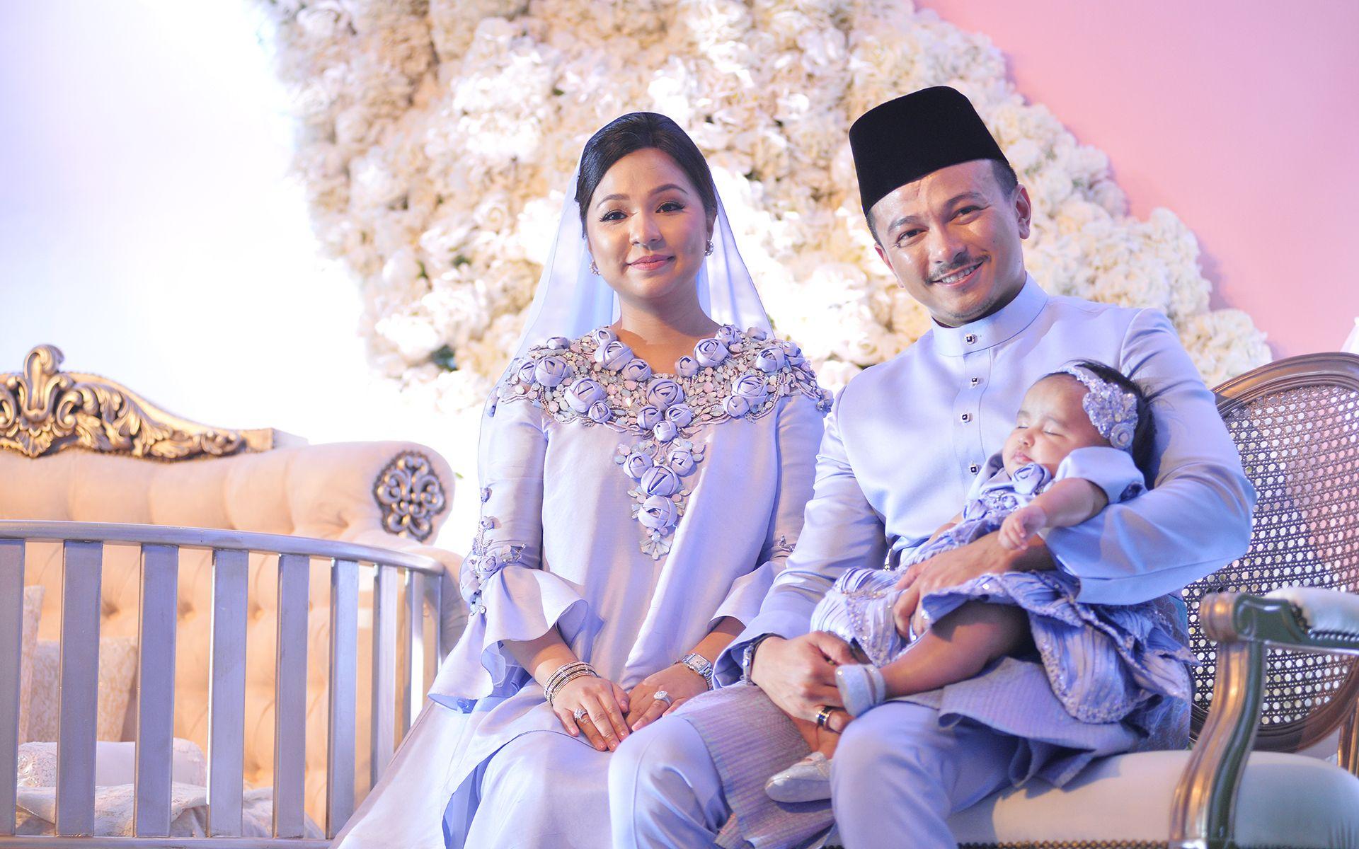 Datin Nina Ismail Sabri, Dato' Jovian Mandagie and Jeanelle Nika Mandagie