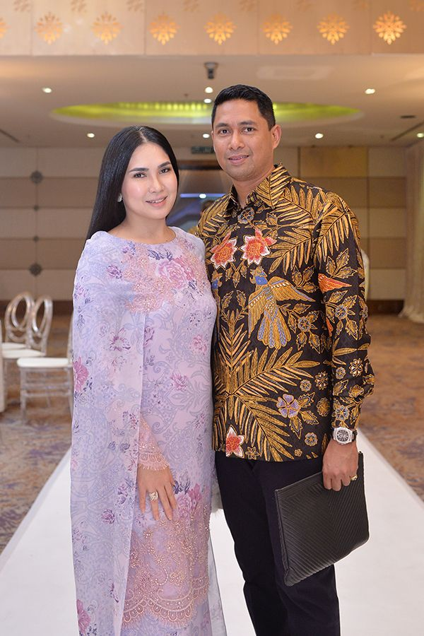 Angela Karto and Erwin Azizi