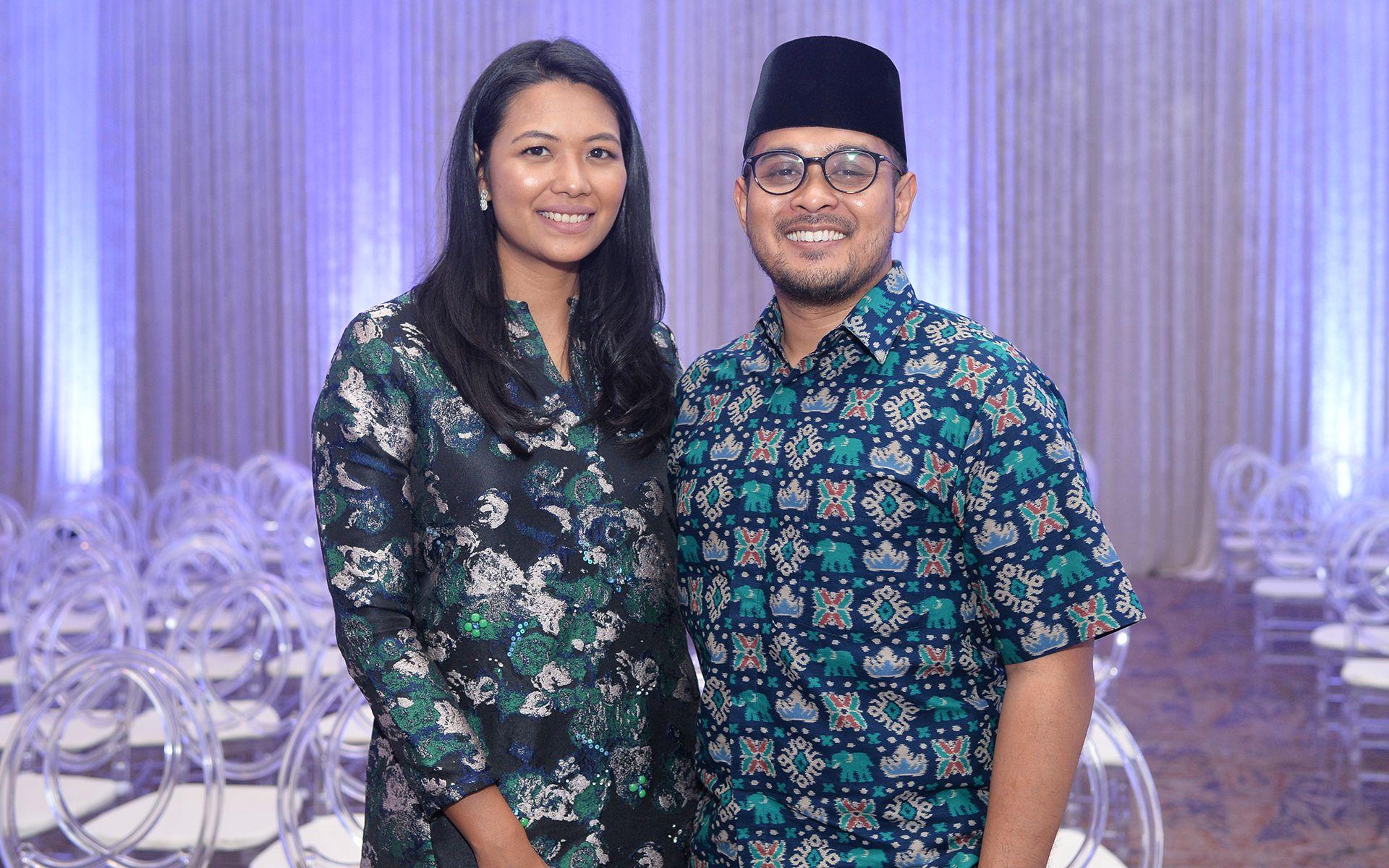 Zaida Ibrahim and Arif Zikri Azizi