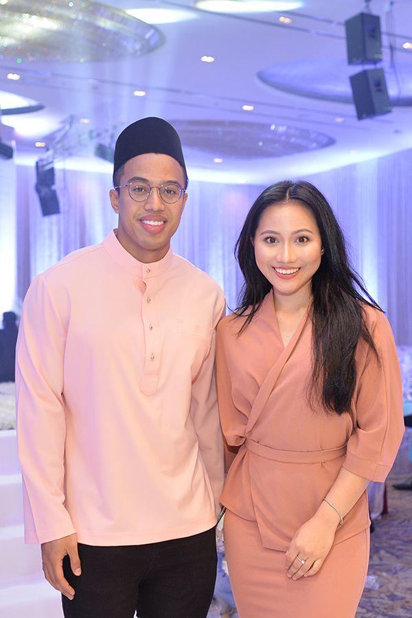 Faiz Ariffin and Yasmin Shahira