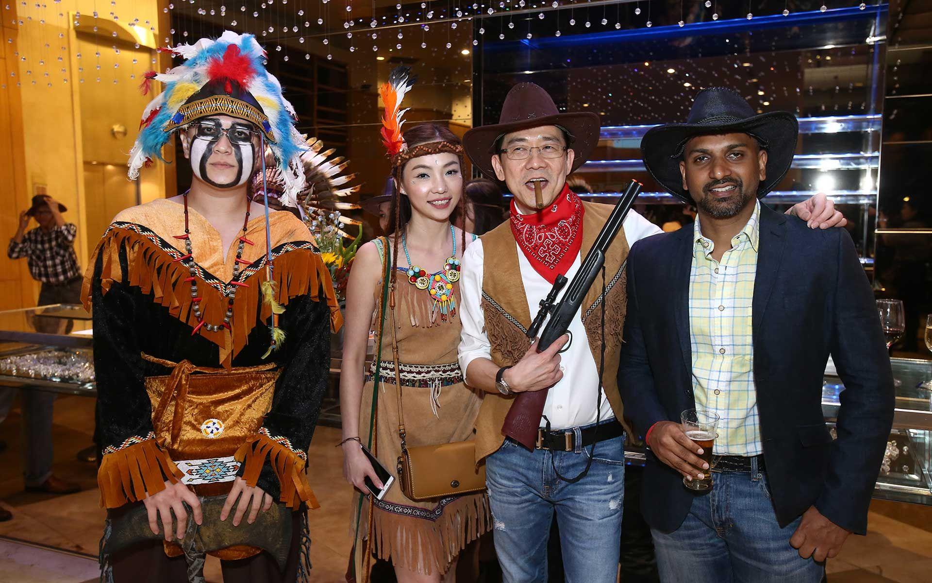 Joe Chok, Venus Thye, Dato' Aik Sim Tan and Shashitheran Thamotharem