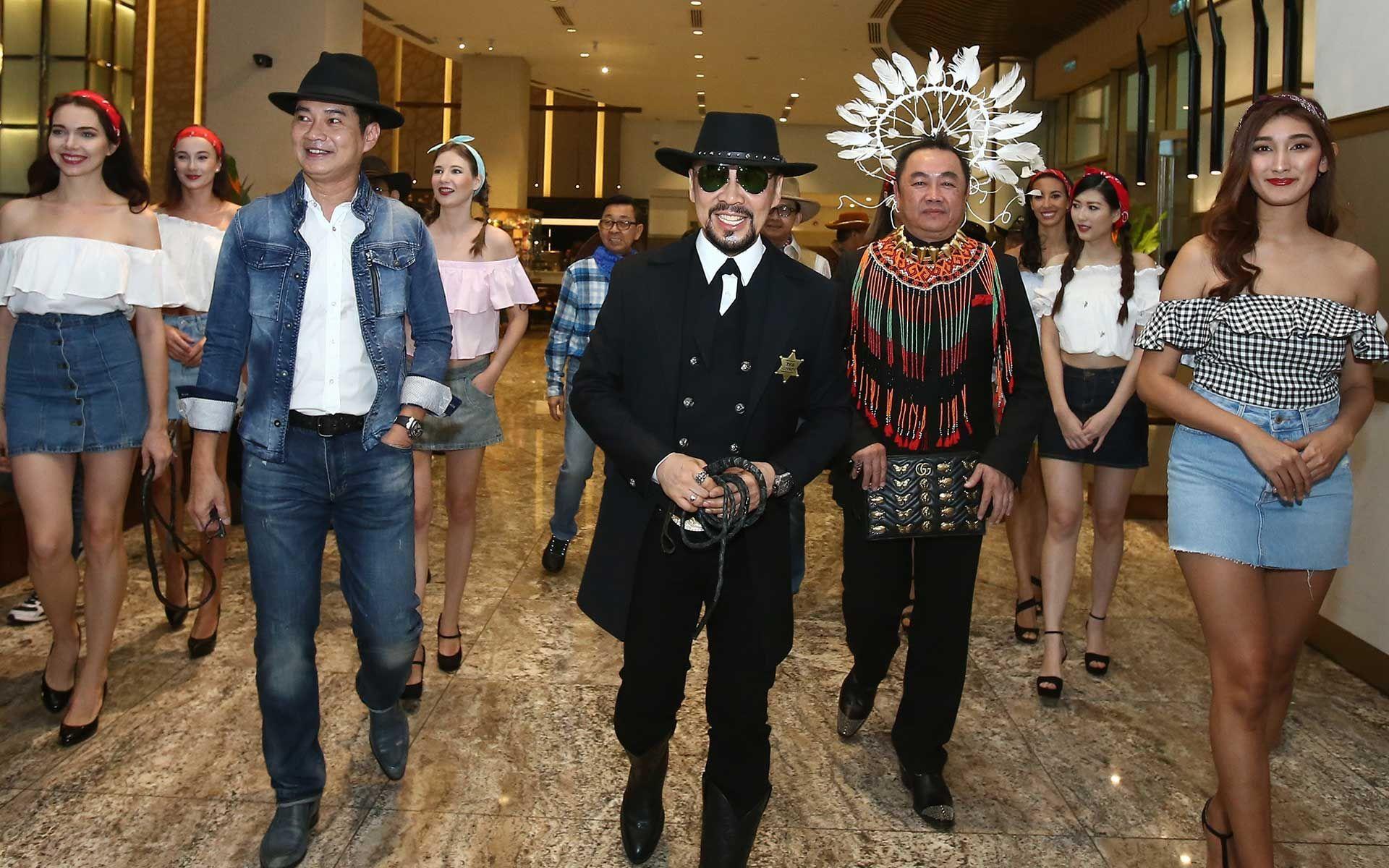 Eric Lee, Datuk Kelvin Tan and Datuk Gordon Leong