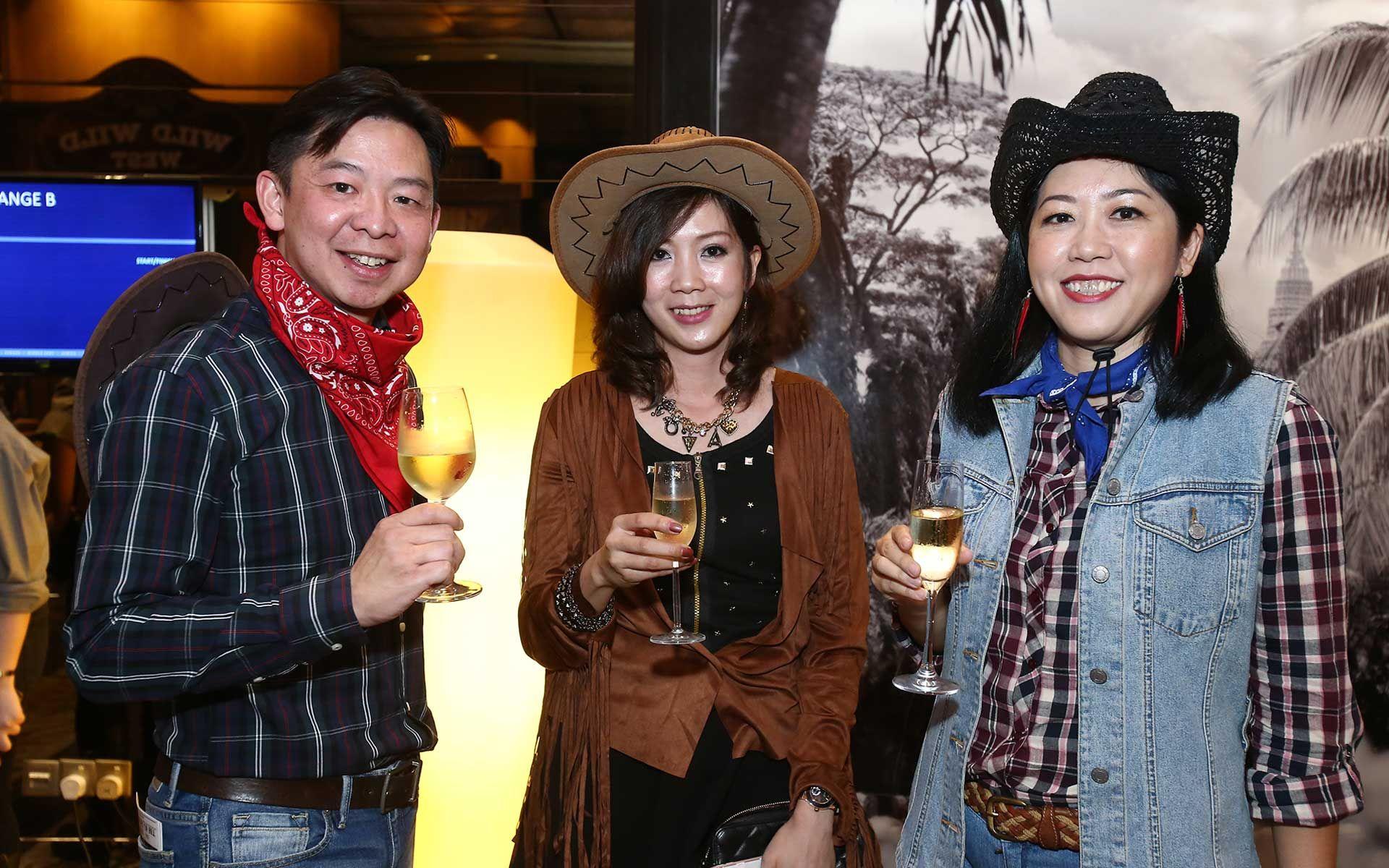 Ho Wei Chung, Michelle Wan and Sharon Khoo