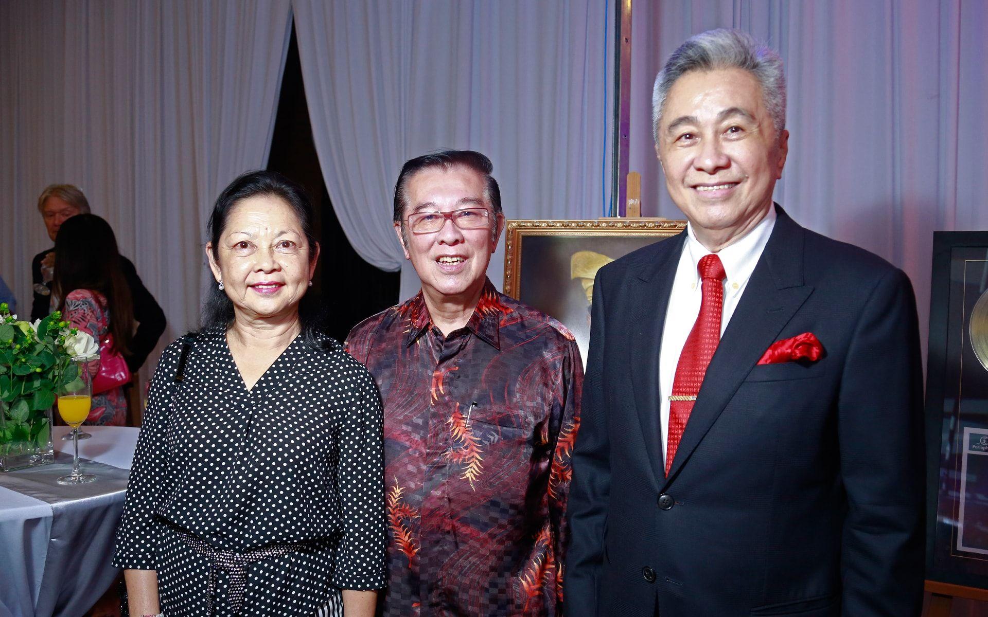 Datin Rita Koo, Dato' Tan Kim Chong and Tan Sri Lim Huah Leong
