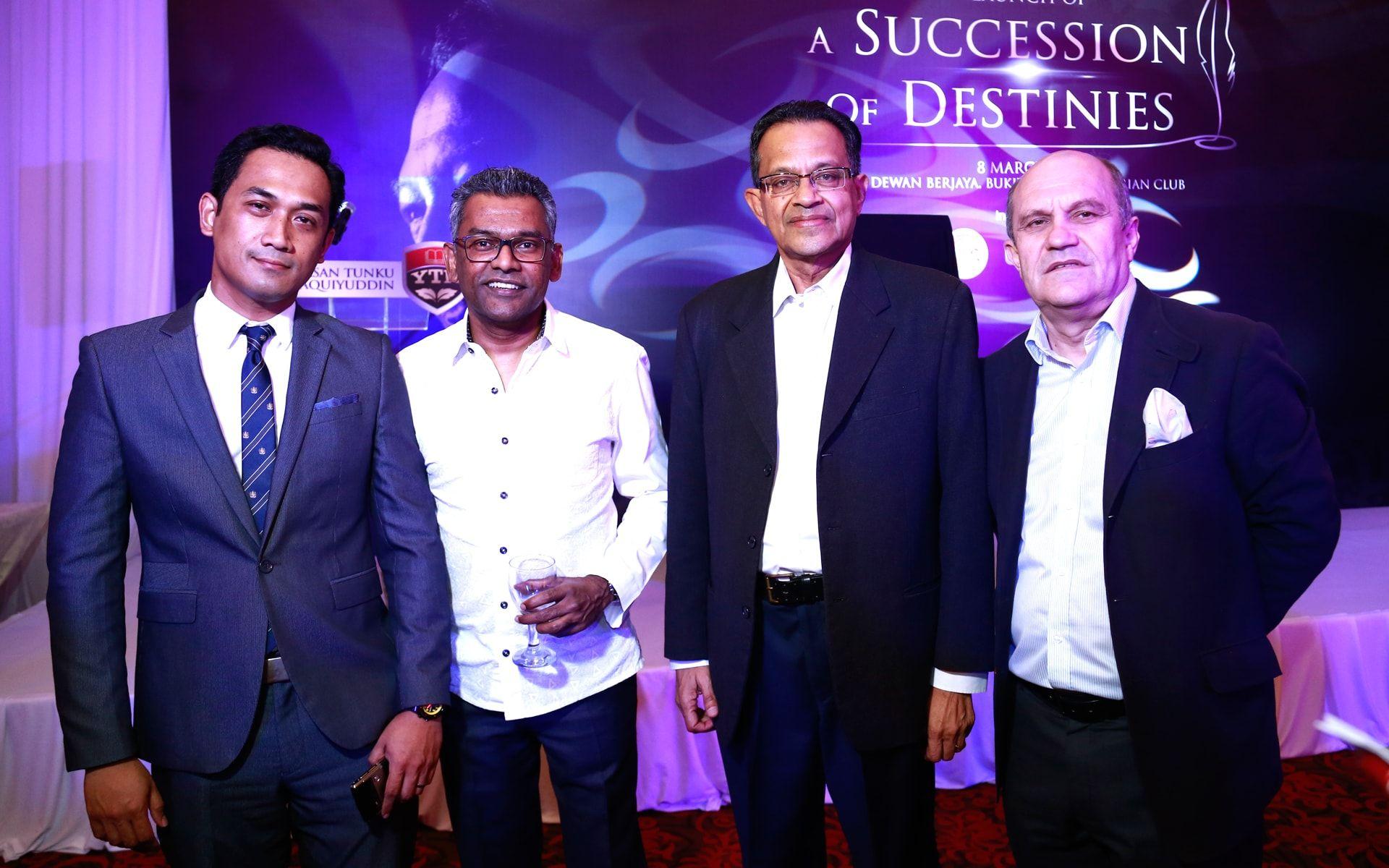 Rahman Rahim, Marcus Francis, Neil Ranaweera and Rainer Buchmann