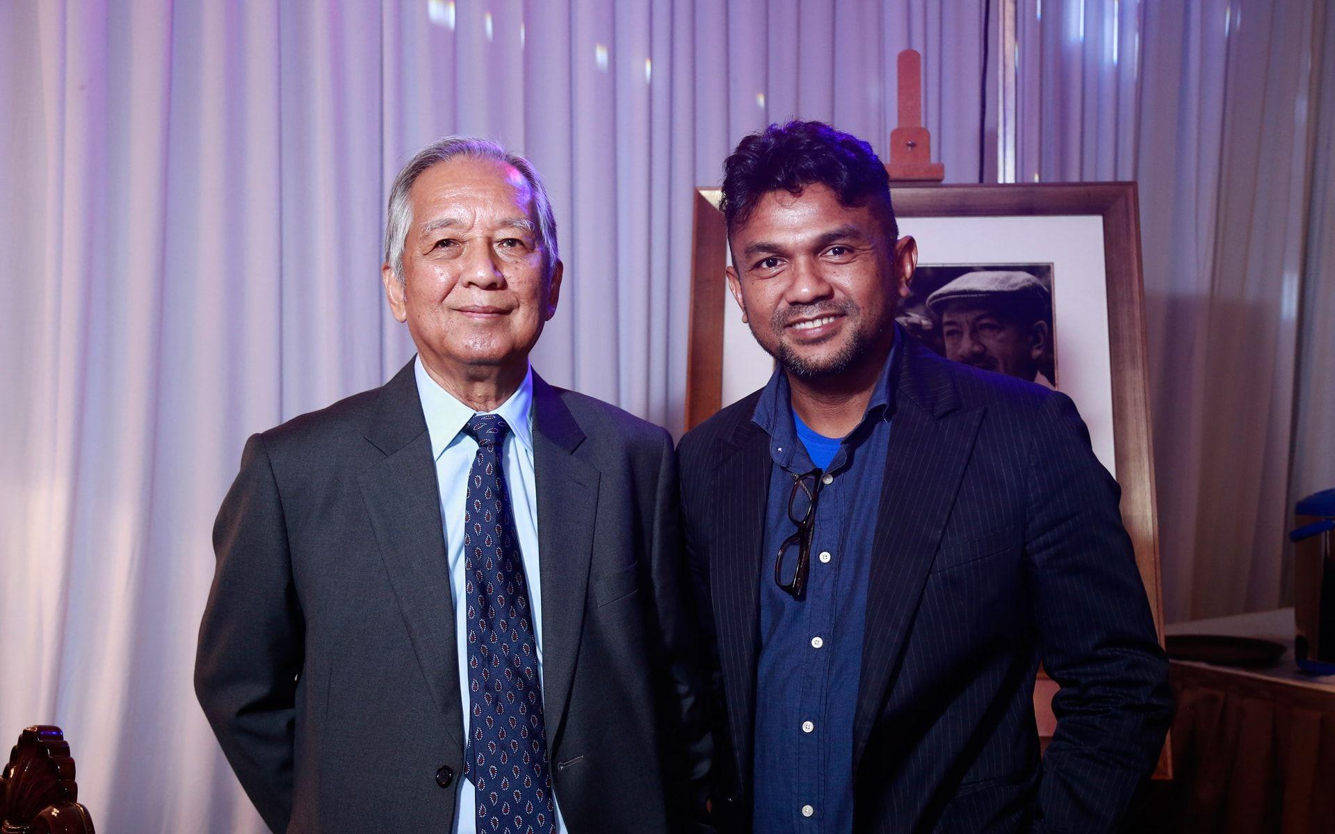 Tunku Jaafar Nong and Abdullah Osman