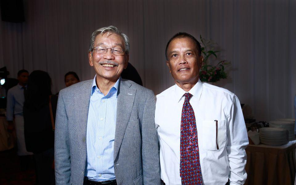 Tan Sri Abdul Rahim Abdul Rahman and Tunku Usham