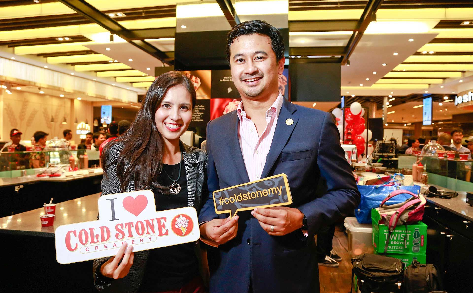 Cold Stone Creamery Hosts A Cool Crowd For Its Pavilion Kl