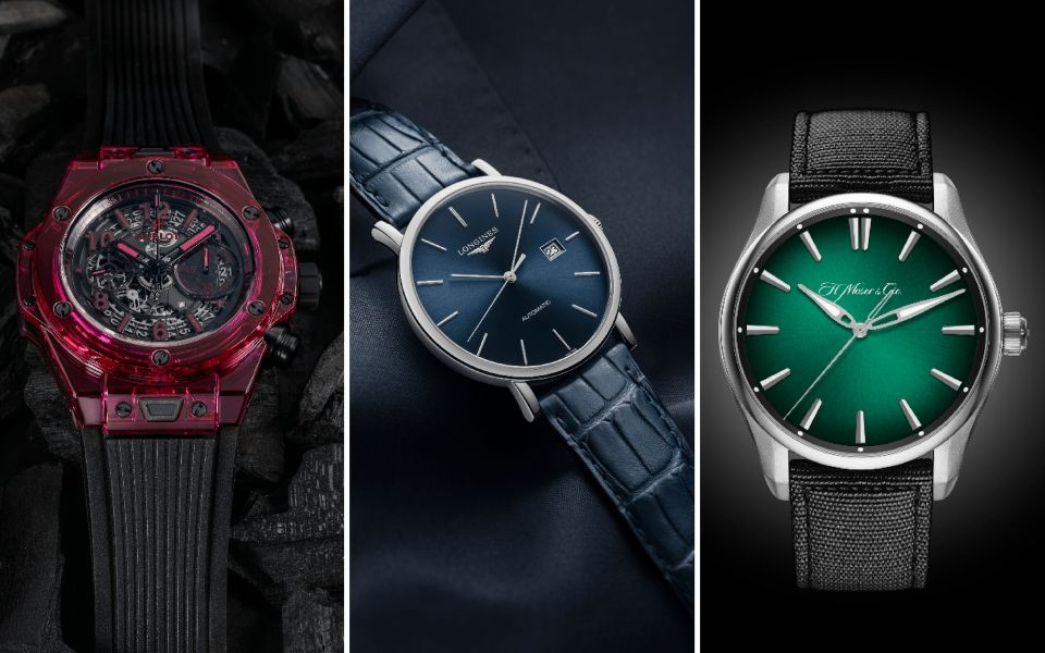 Hublot, Longines and H. Moser & Cie