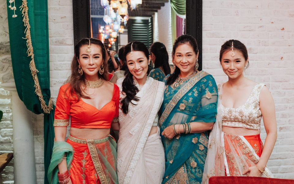 Datin Dian Lee, Diani Lee, Puan Sri Tan Bee Hong and Dianna Lee