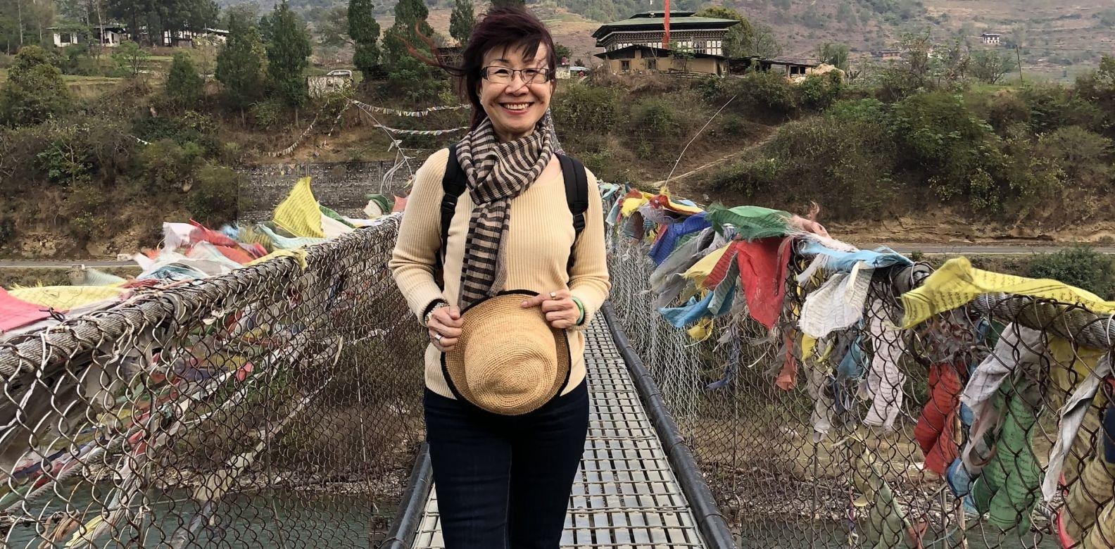 Florence Fang, suspension bridge