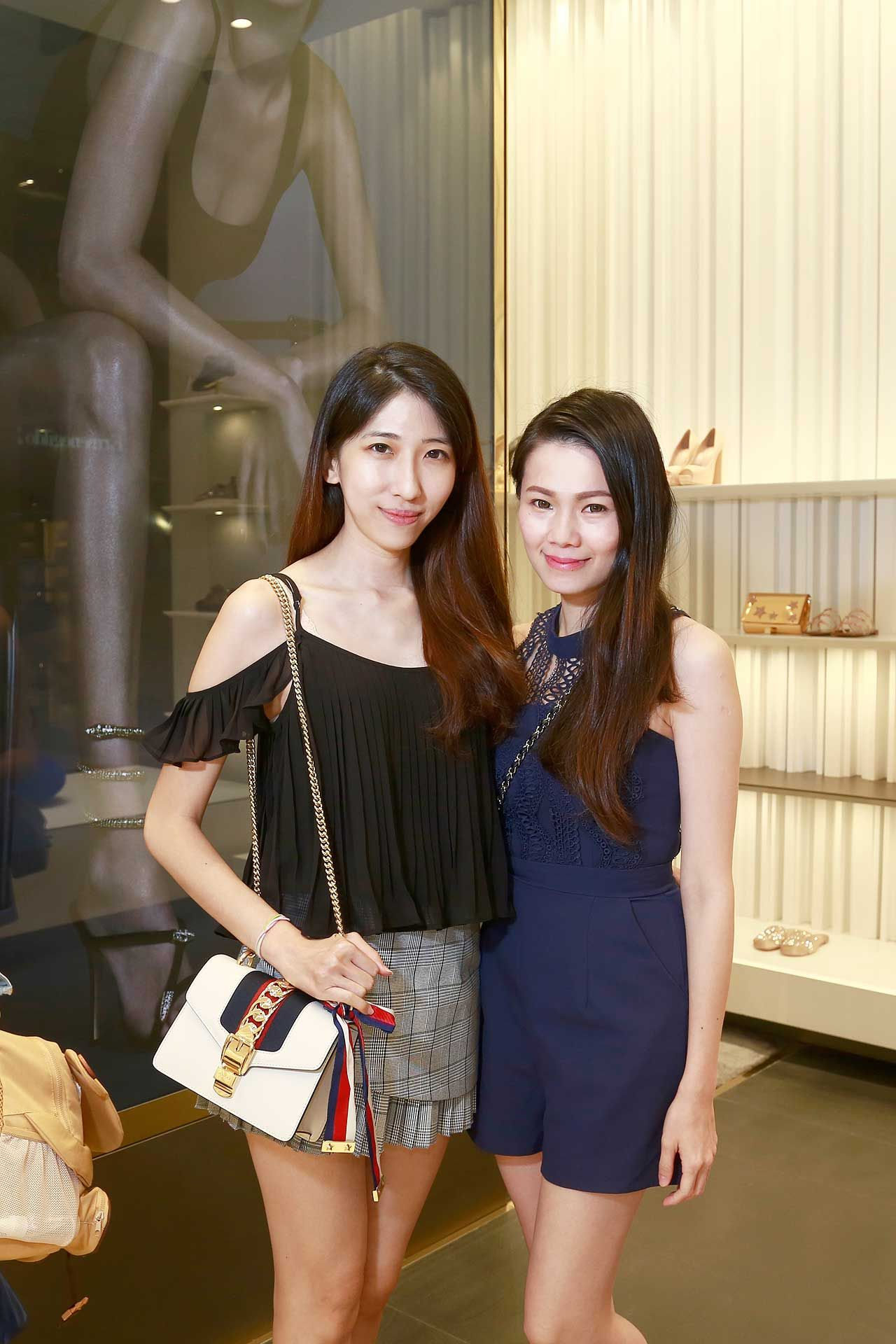 Phoebe Yap and Sunny Leong