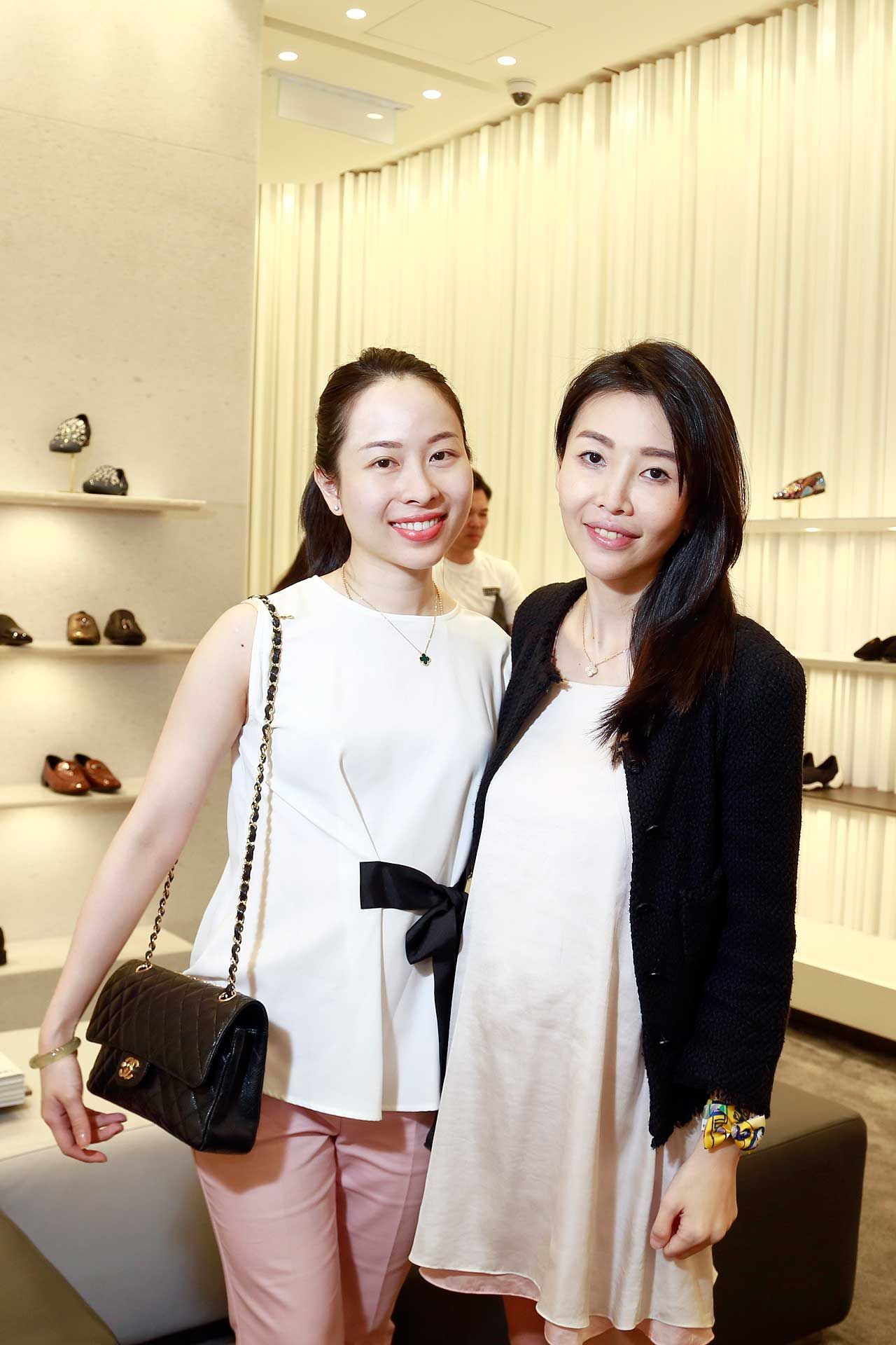 Caleen Chua and Datin Lisa Ong
