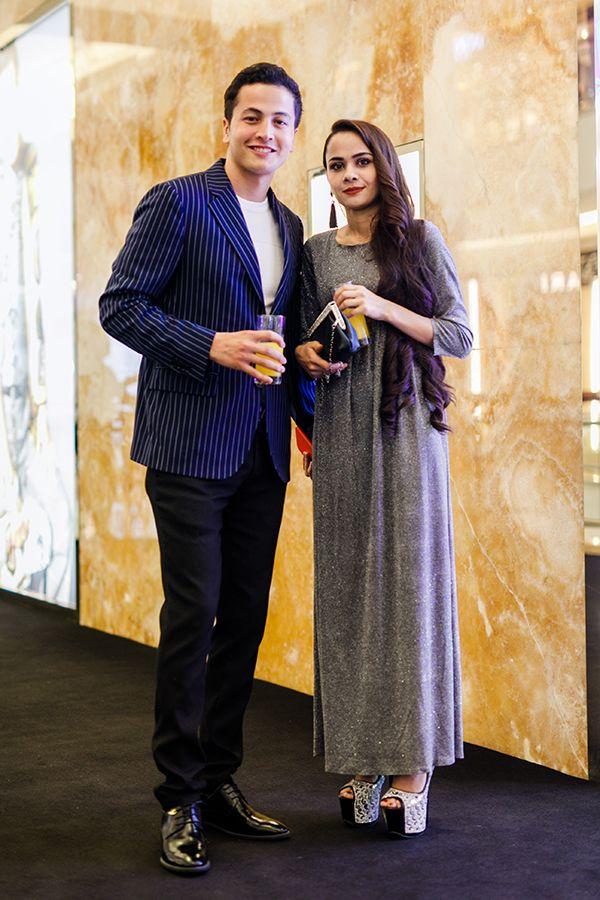 Daler Yusuf and Sakinah Ahmad