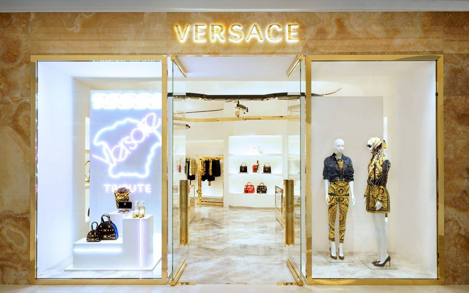 Versace Suria KLCC store front