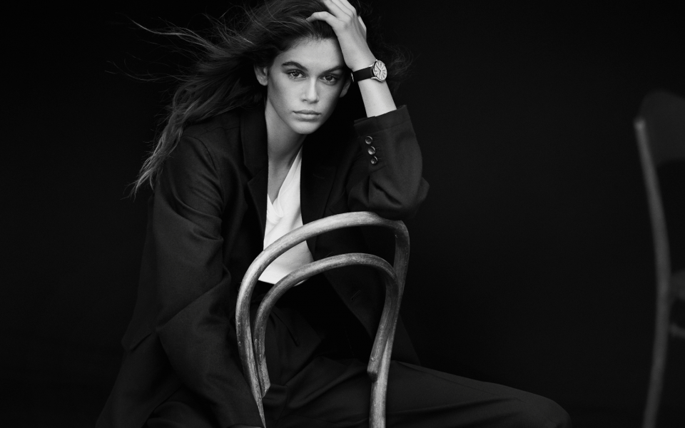 Kaia Gerber (Photo: Omega)