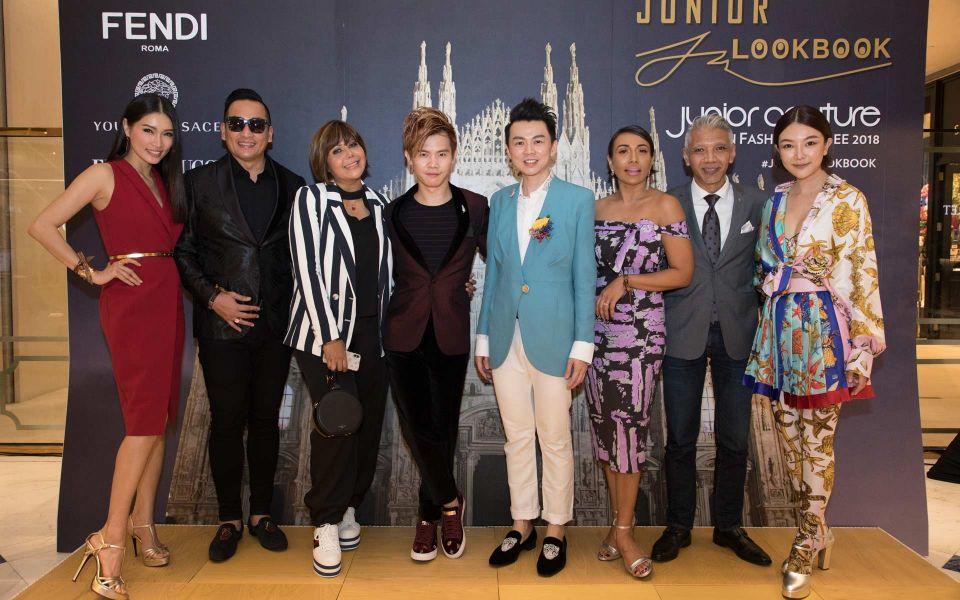 Amber Chia, Dato' AC Mizal, Datin Emylia Rosnaida, Matthew Benjamin Yoon, Brian John Yim, Ning Baizura, Bon Zainal and Chris Tong