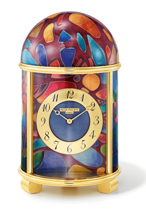 Cubist Fantasy table clock (Photo: Patek Philippe)