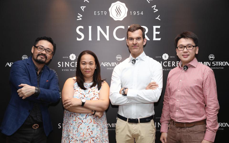 Kevin Tan, Marcia Loh, Claude Greisler and Jackie Lim