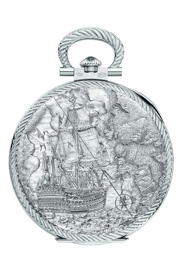 Intricate hand-engraving (Photo: Patek Philippe)
