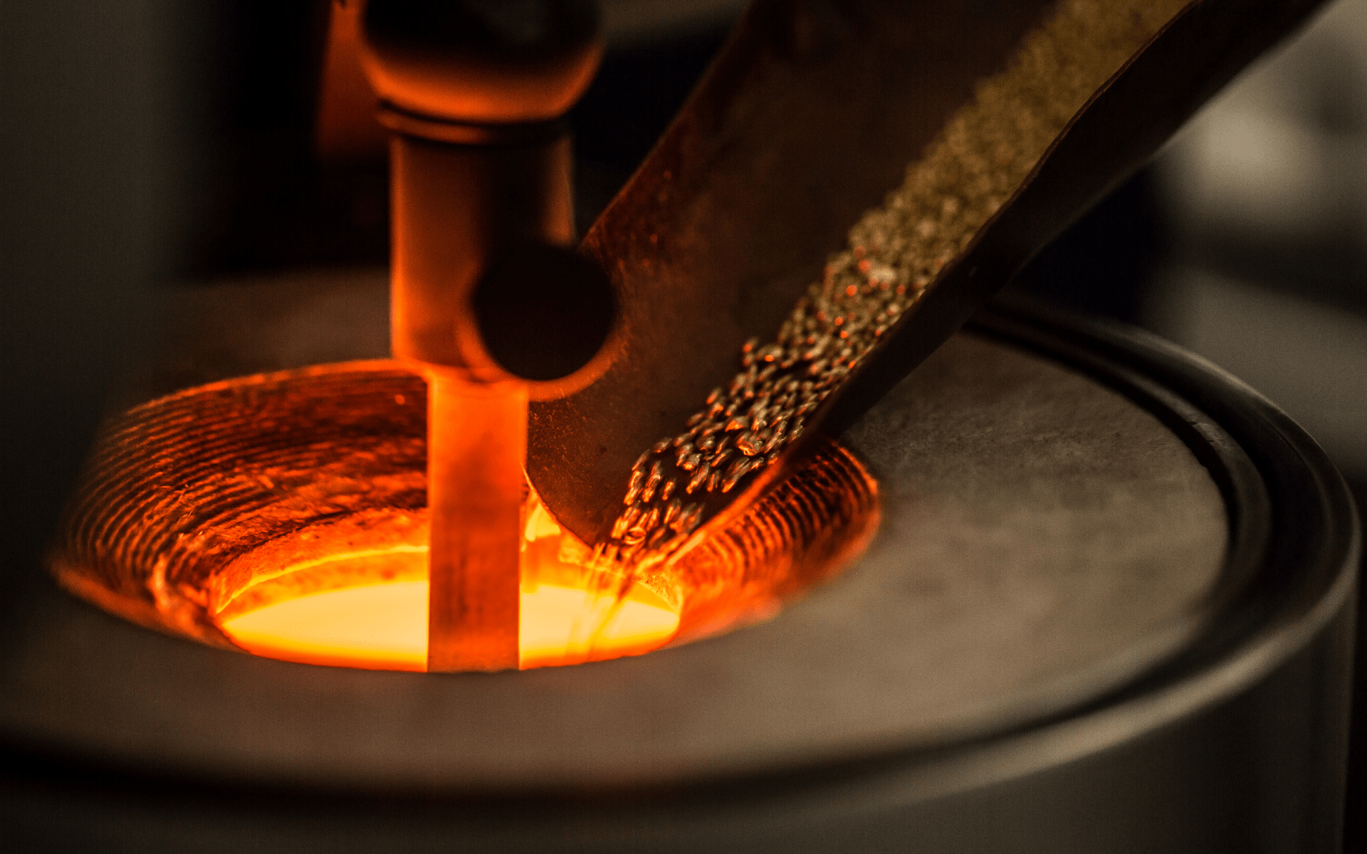 A gold foundry (Photo: Chopard)