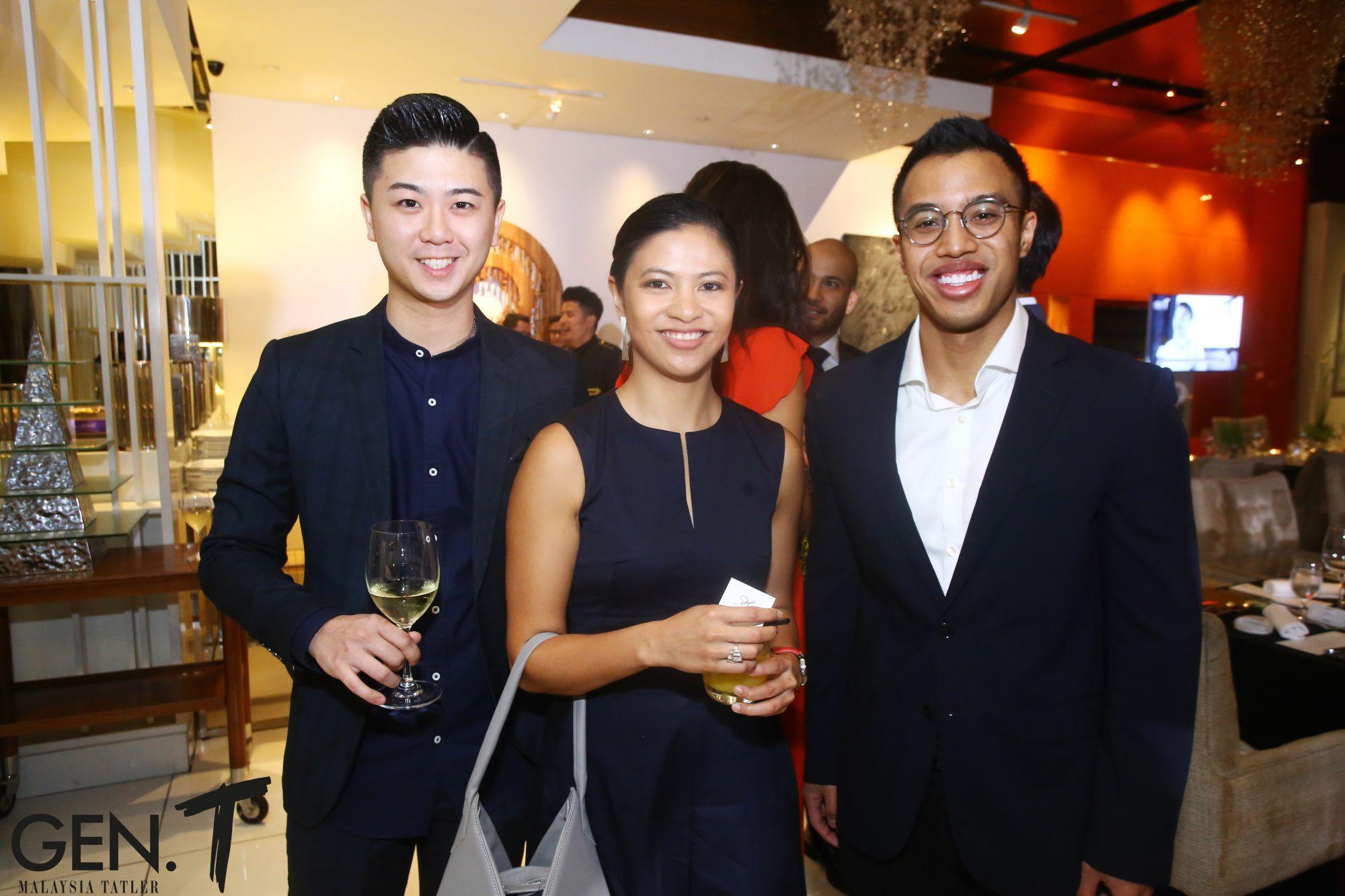 William Sin, Wan Nadiah Wan Mohd Abdullah Yaakob and Faiz Ariffin
