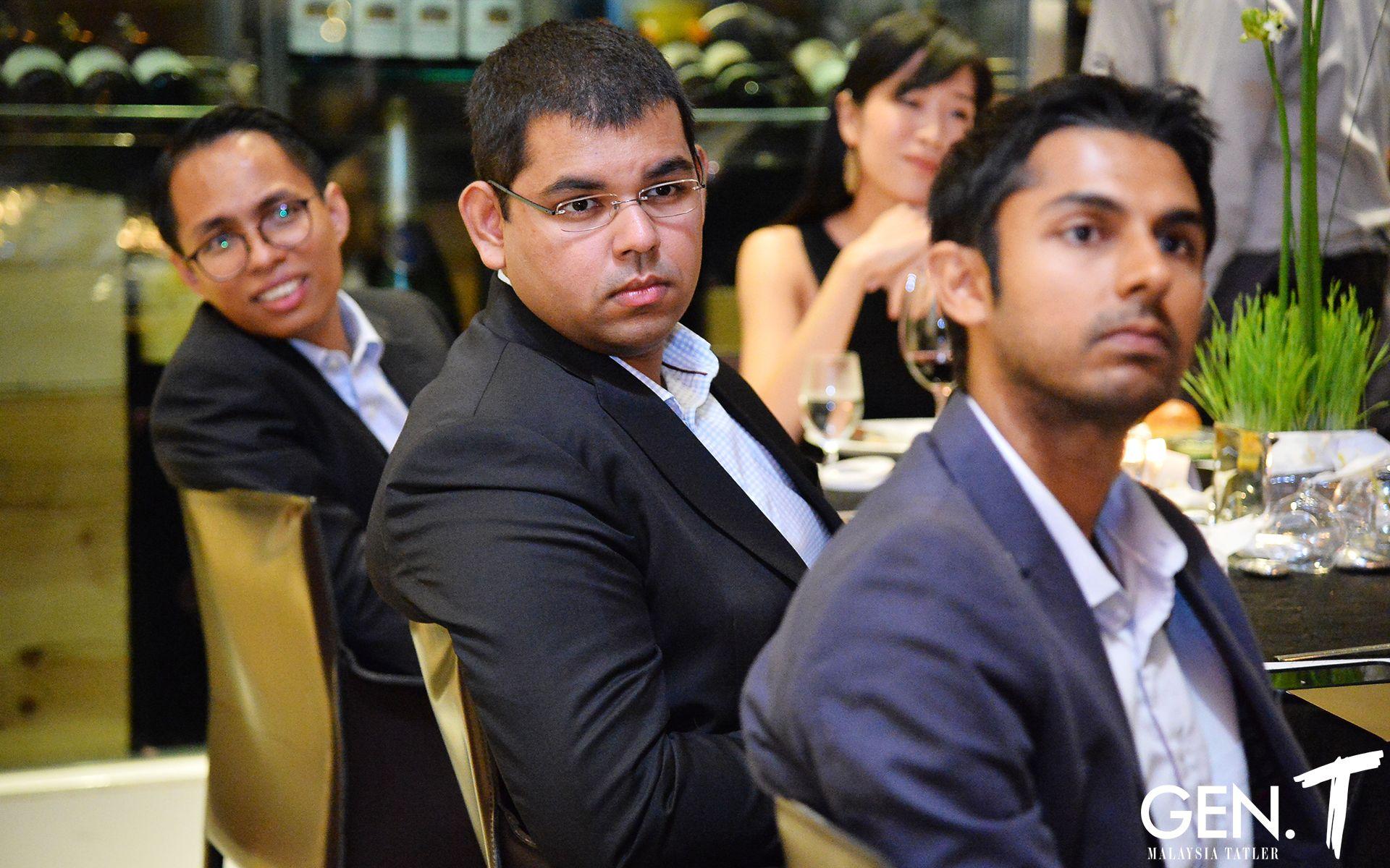 Azrul Rahim, Aaron Patel and Rashvin Pal Singh
