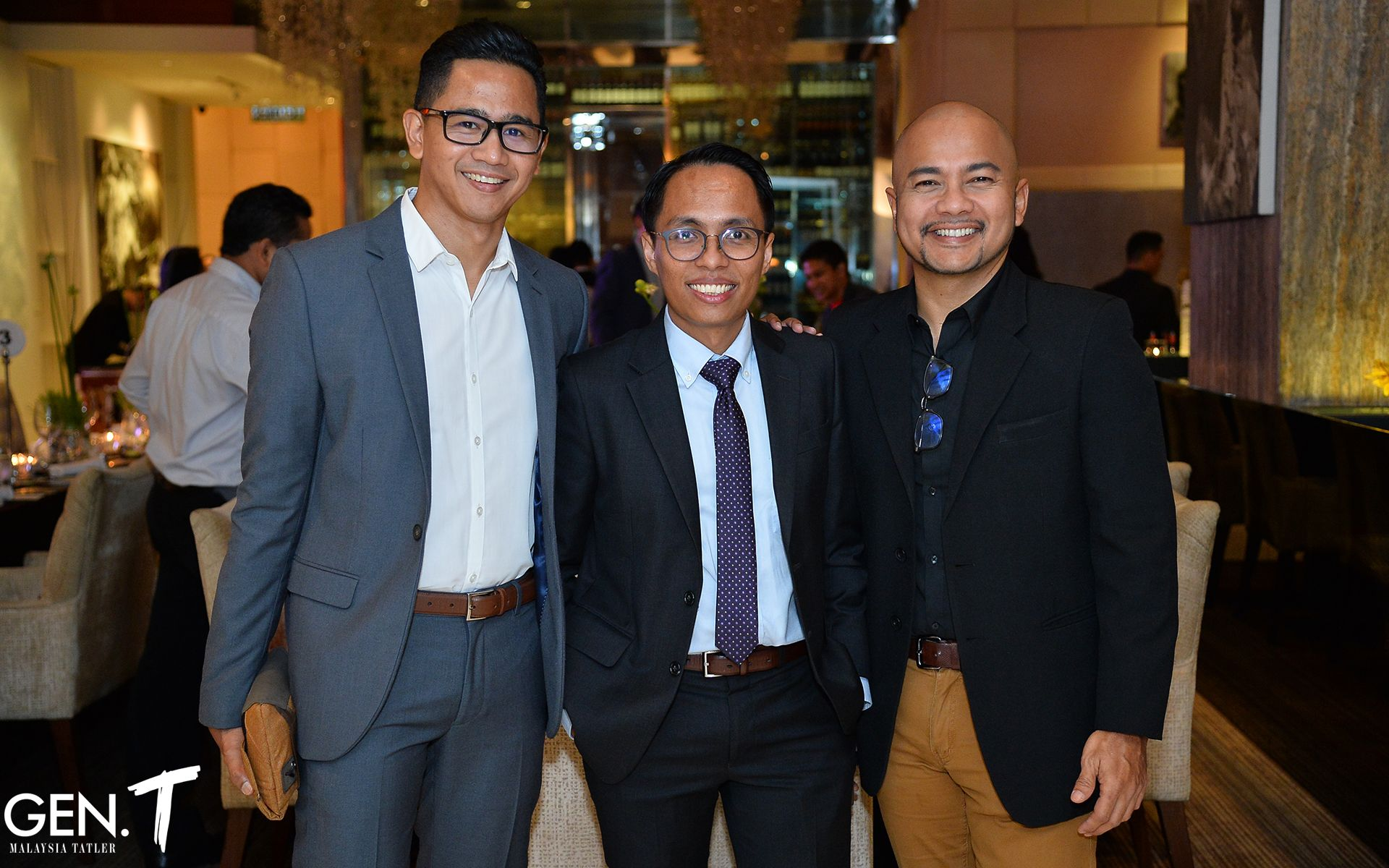 Arzumy MD, Azrul Rahim and Jasmin Jalil