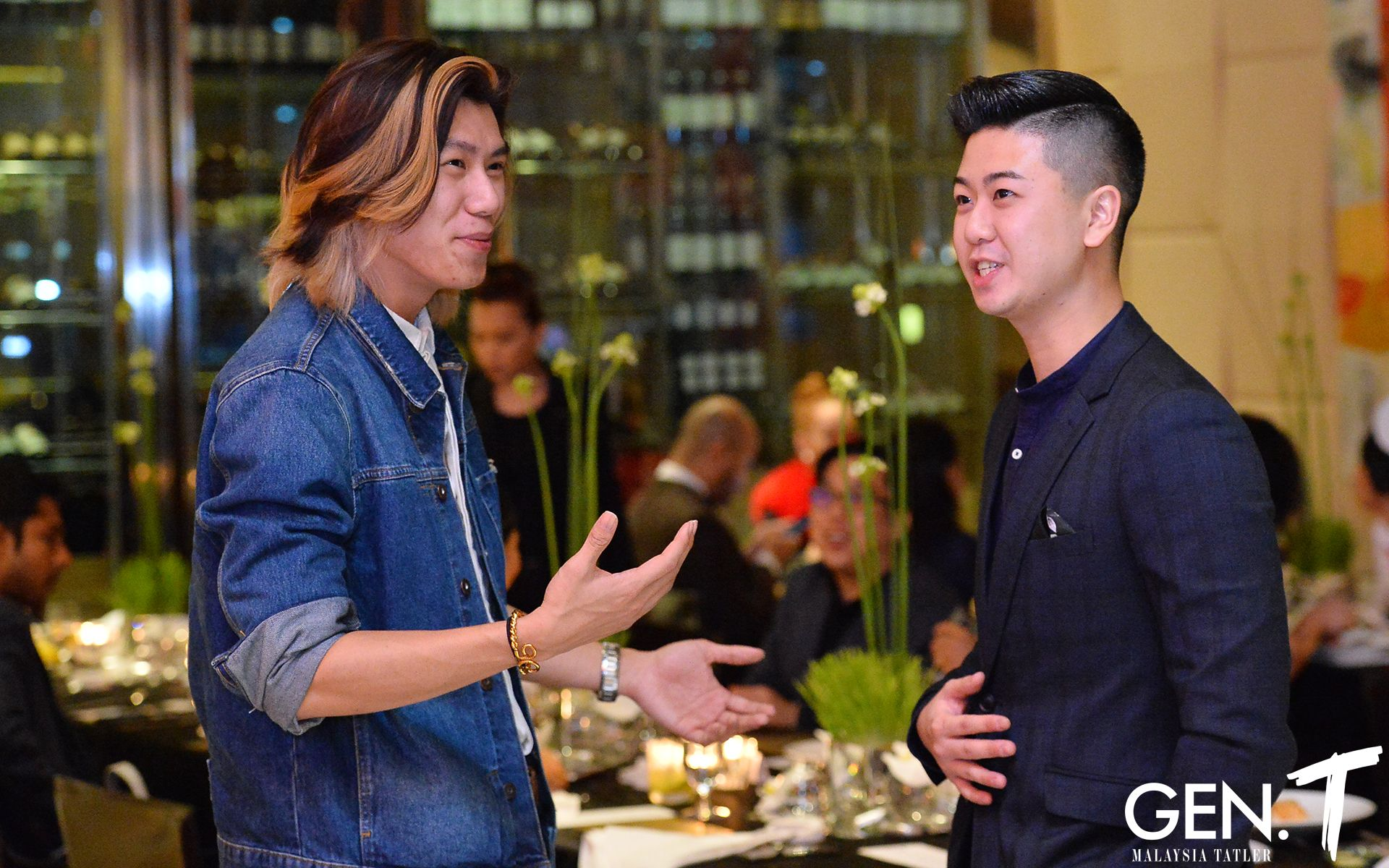 Brian Chan and William Sin