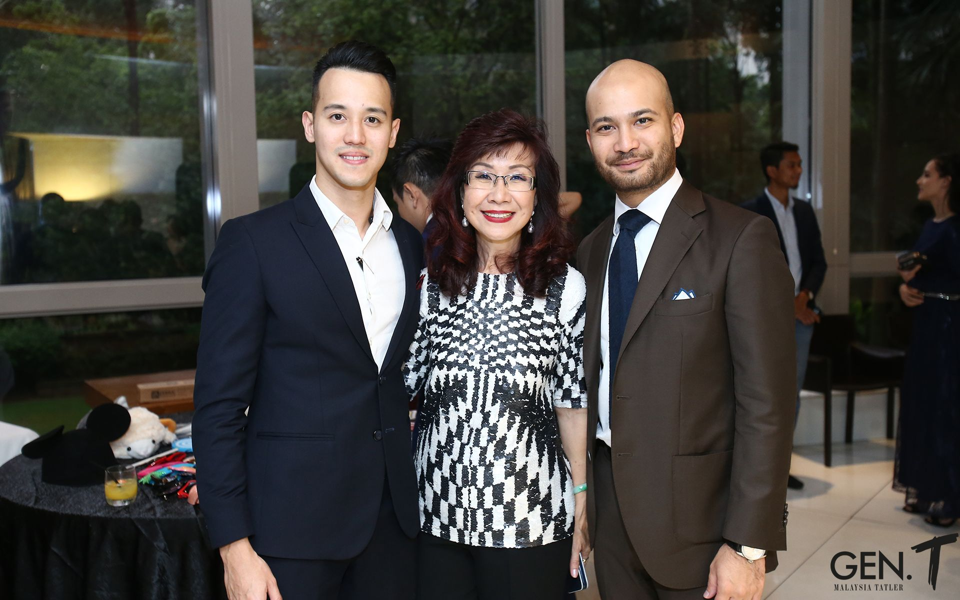 King Quah, Florence Fang and Affendy Ali