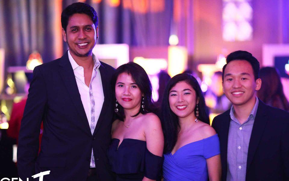 Naysan Munusamy, Christine Boey, Michelle Tan and Evan Loh