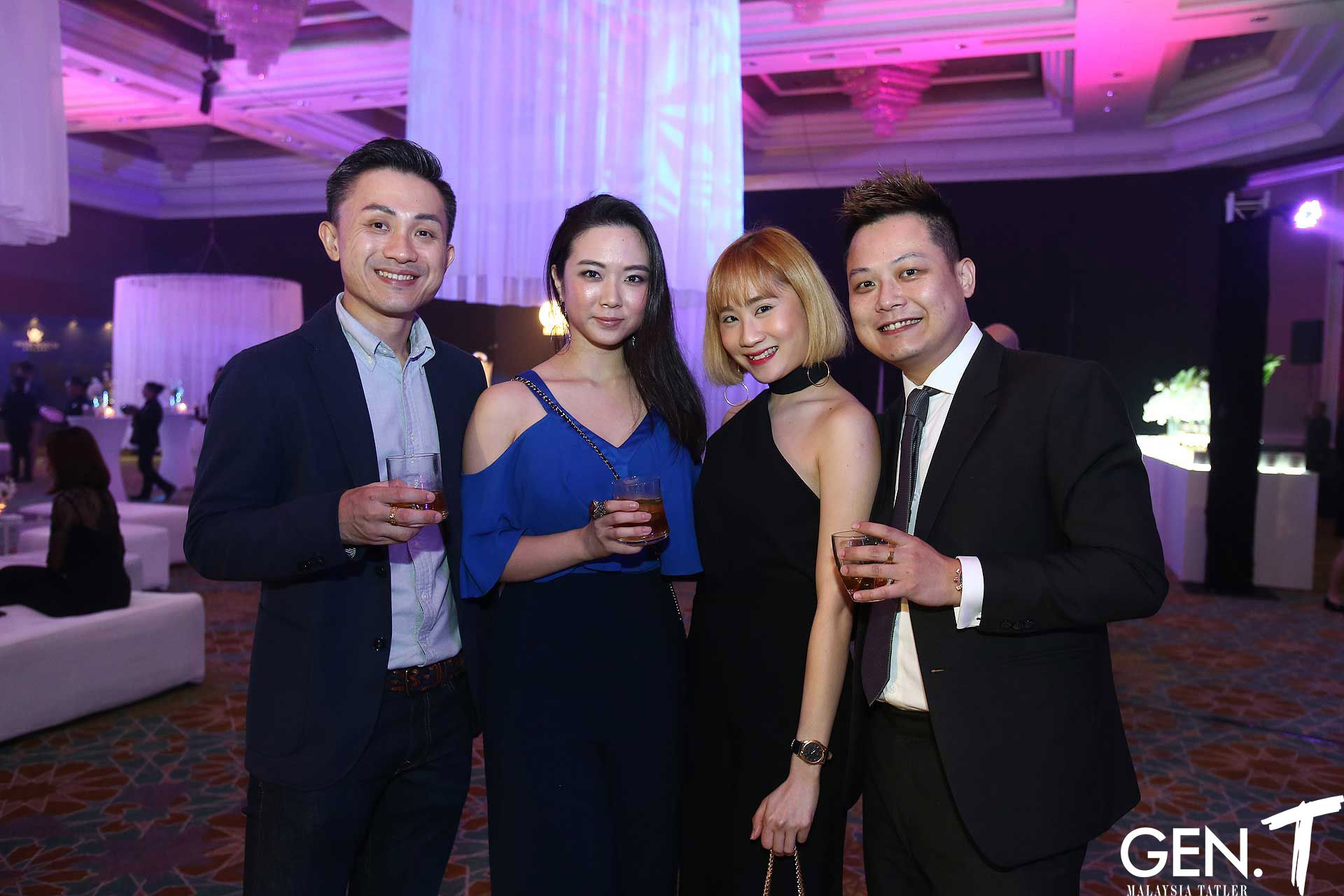 Tai Wee Yeng, Samantha Tan, Sarah Goh and Louis Lai