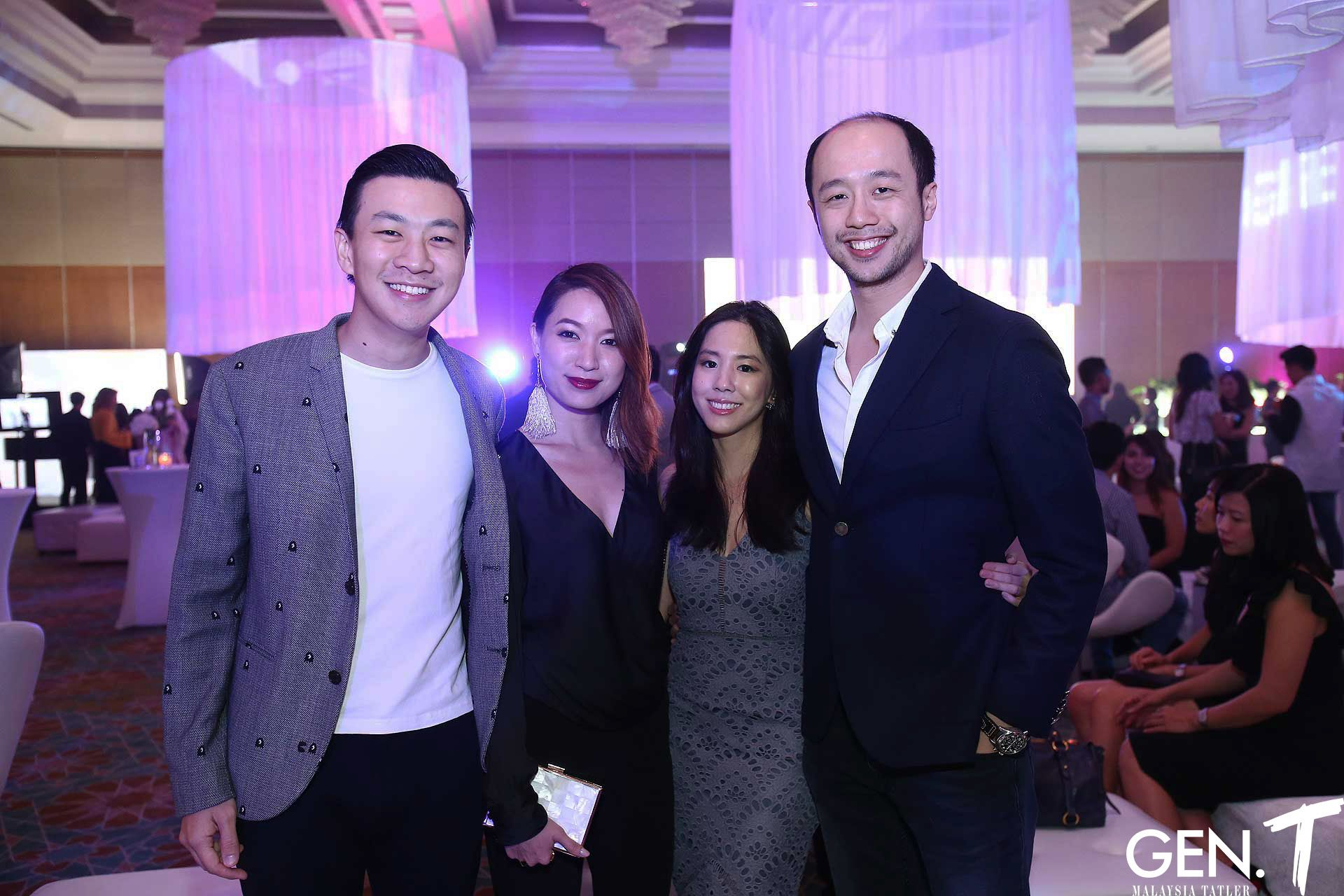 James Yam, Sheryl Oon, Li Sheen Mah and Dion Tan