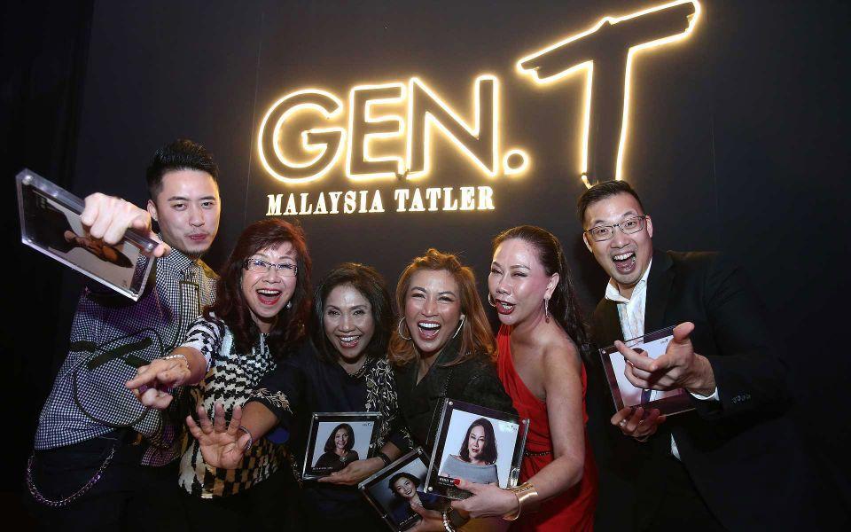 Bryan Loo, Florence Fang, Datuk Munirah Hamid, Puan Sri Tiara Jacquelina, Michele Kwok and John-Son Oei