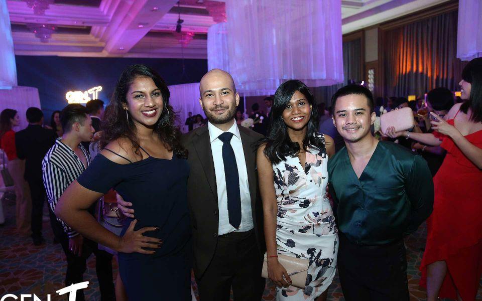 Priyanka Thiruchelvam, Affendy Ali Dally, Navina Raja and Atiyah Athmat