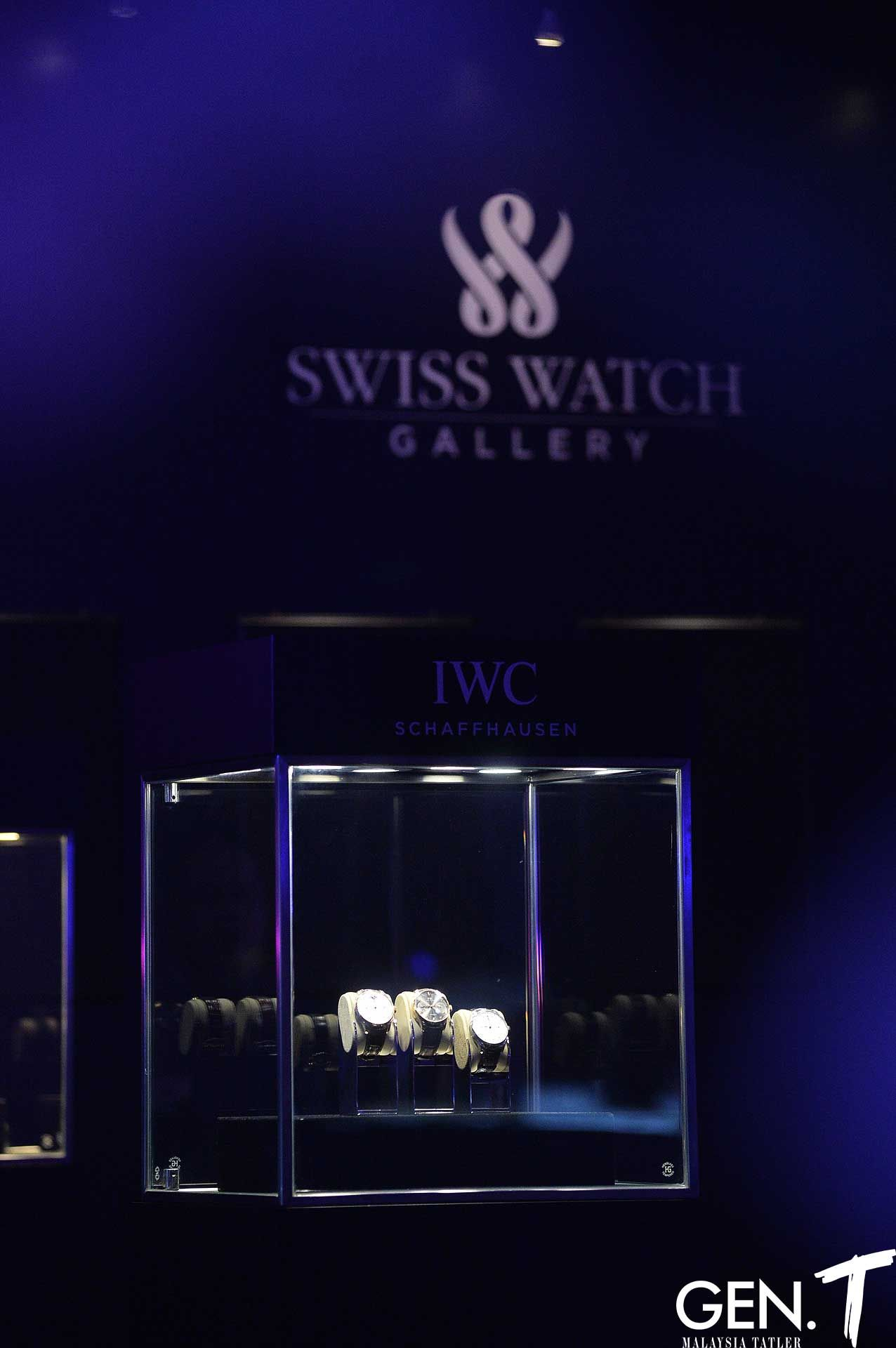Swiss Watch Gallery had IWC watches on display