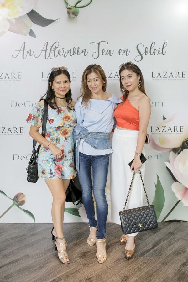 Jeslyn Ho, Alice Ng and Rebecca Khoo