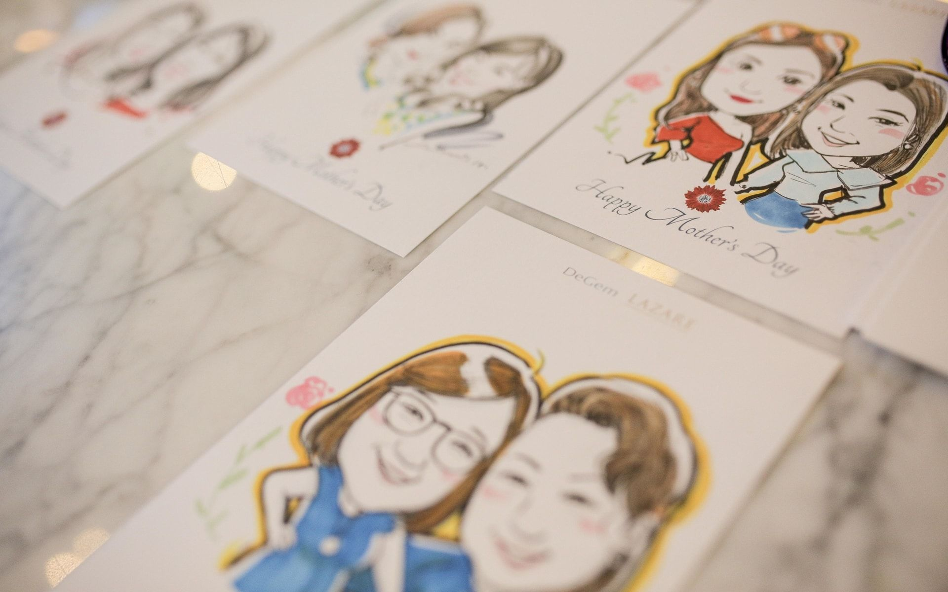 Caricatures by Pocotee Loh