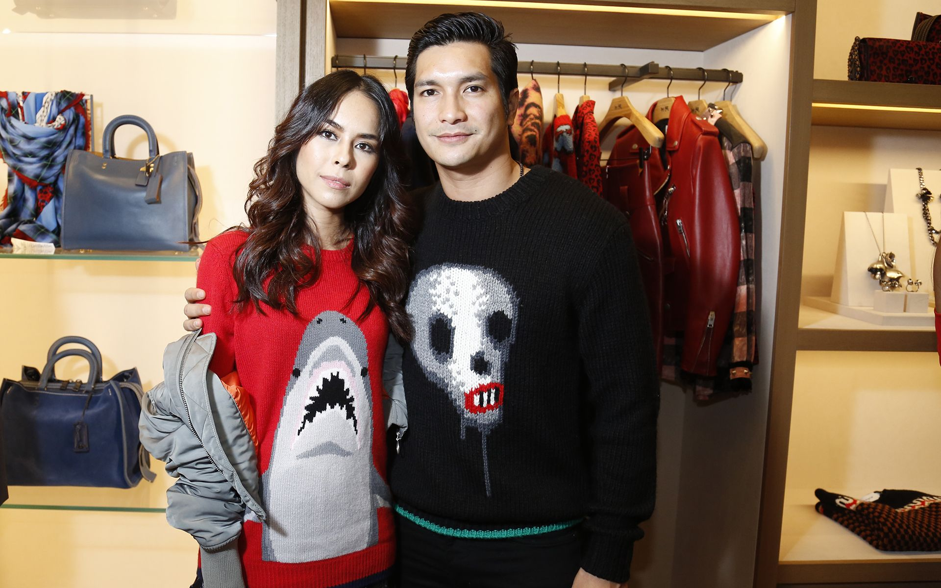 Kim Raymond & Keith Foo 2017 feb coach new store launch