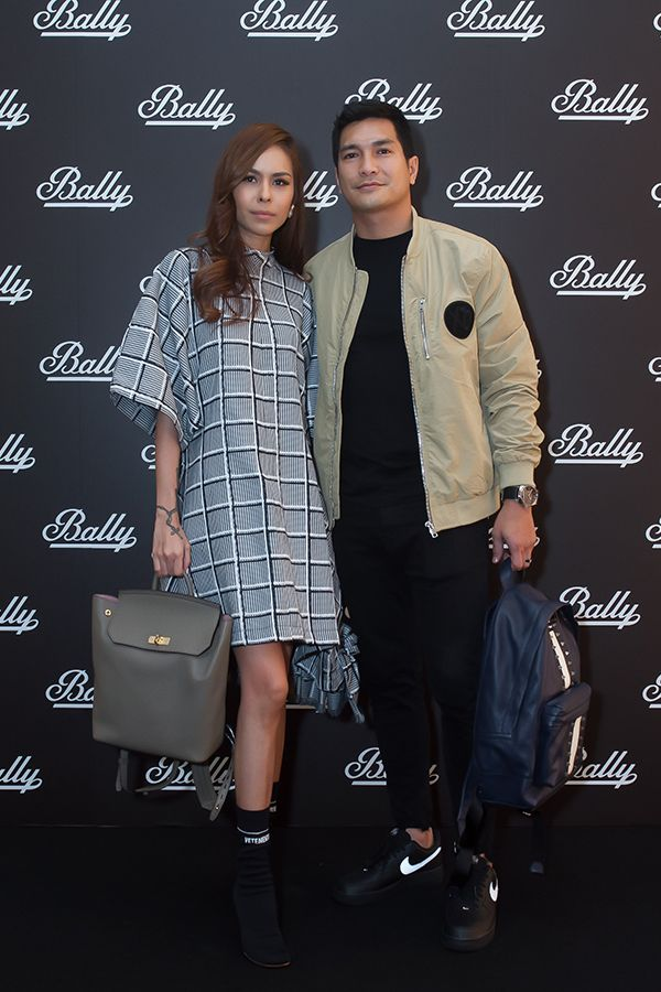 Kim Raymond & Keith Foo dec 2017 bally klcc opening