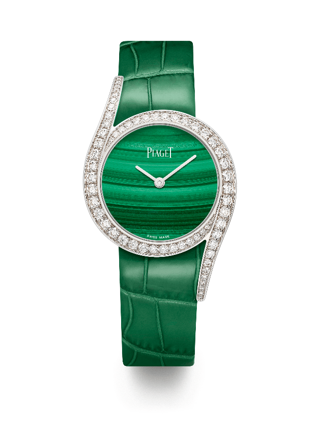 Piaget Limelight Gala with malachite green dial (Photo: Piaget)