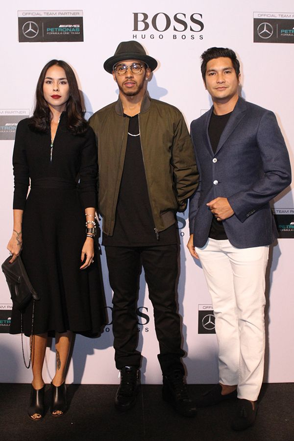 Kim Raymond & Keith Foo 2016 sep hugo boss x lewis hamilton