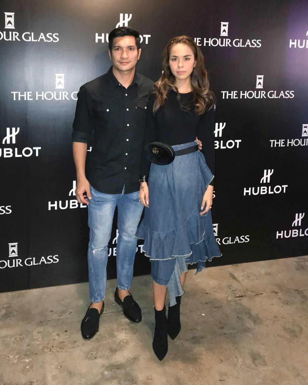 Kim Raymond & Keith Foo 2017 oct hublot event