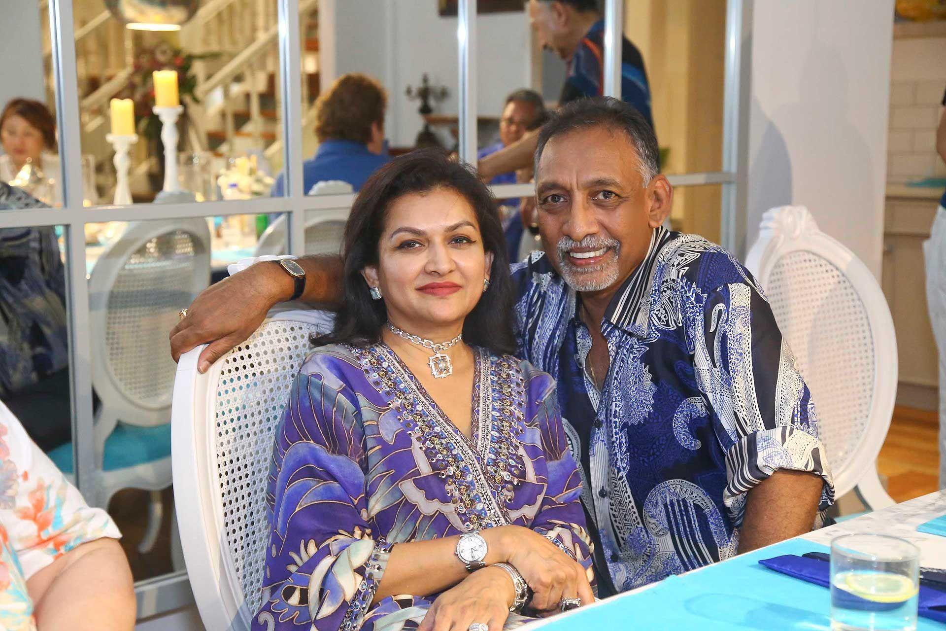 Datin Usha Nair and Dato' Mohan Karthigasu