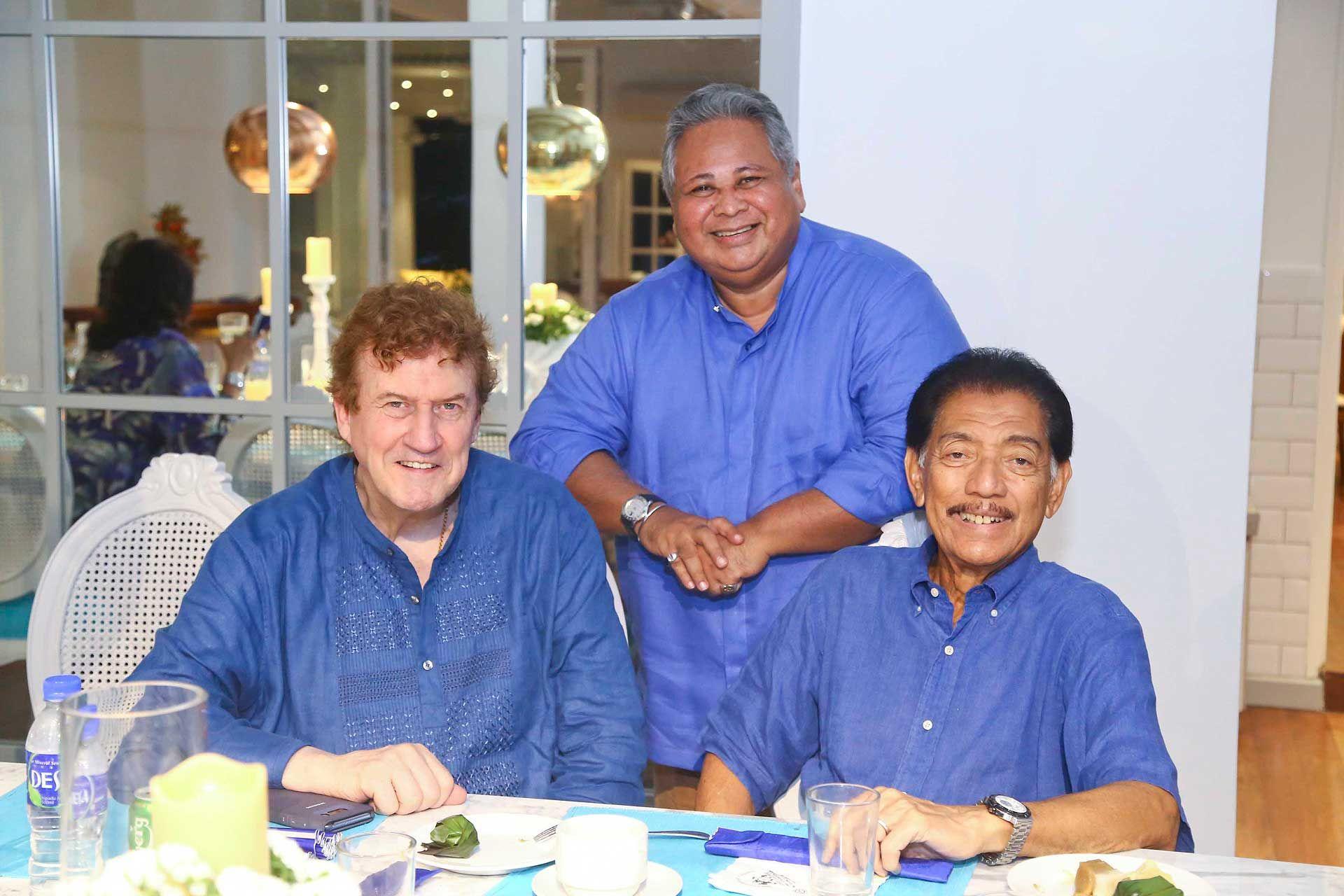 Dato' Steve Day, Asri Ghafar and Tunku Datuk Mudzaffar