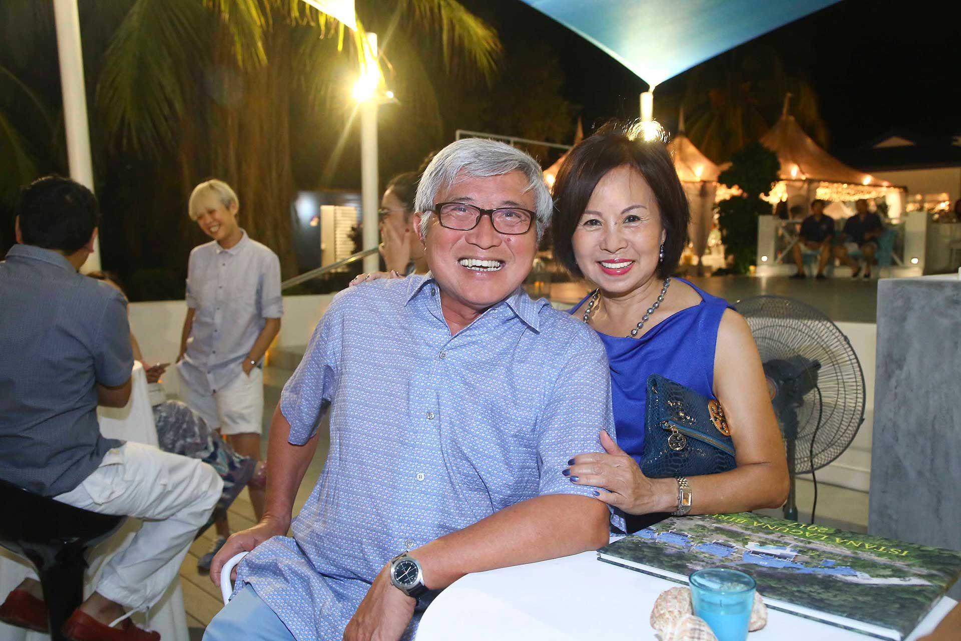 Paul Chuah and Stella Chuah