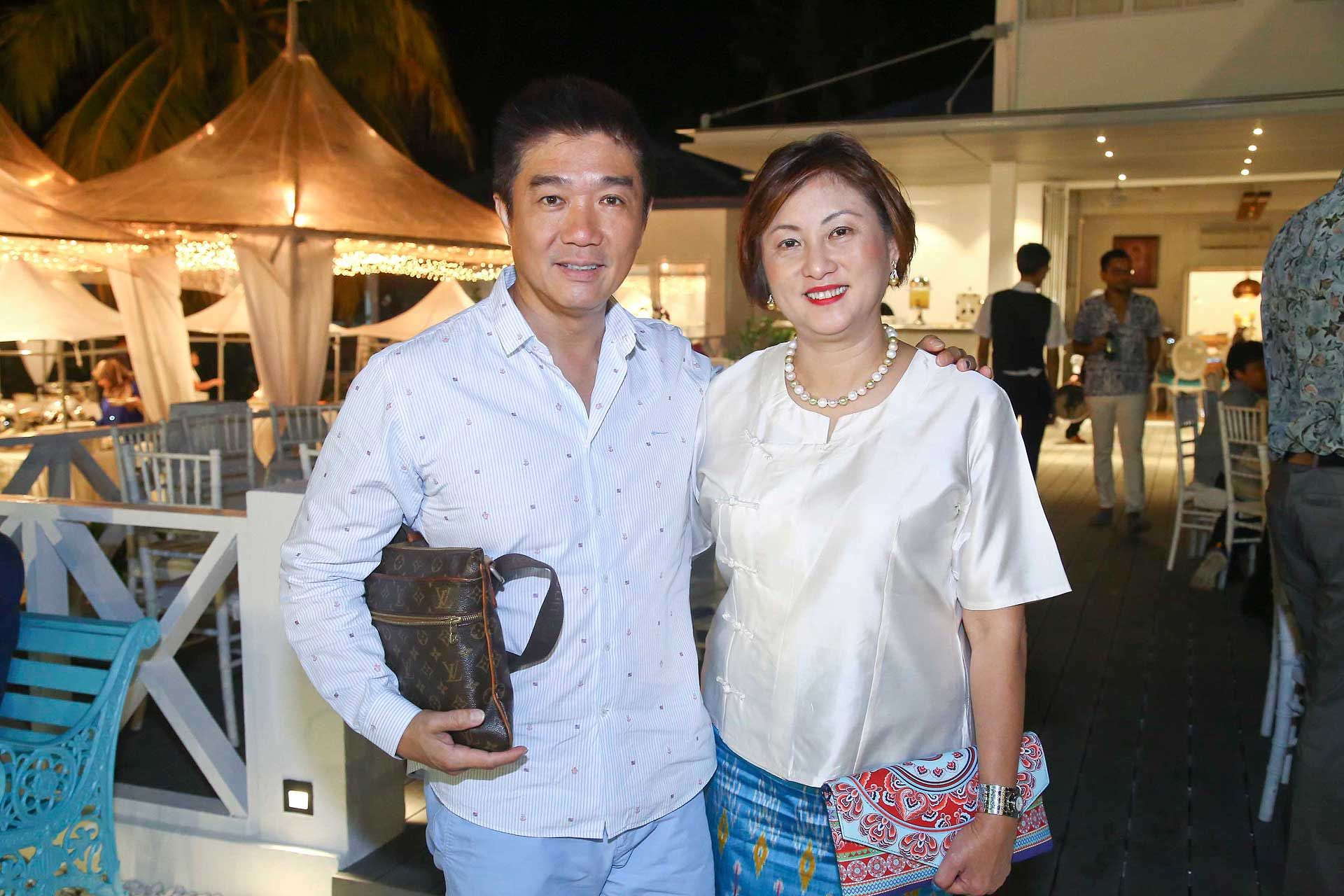 Datuk Marcus Kam and Datin Sylvia Kam