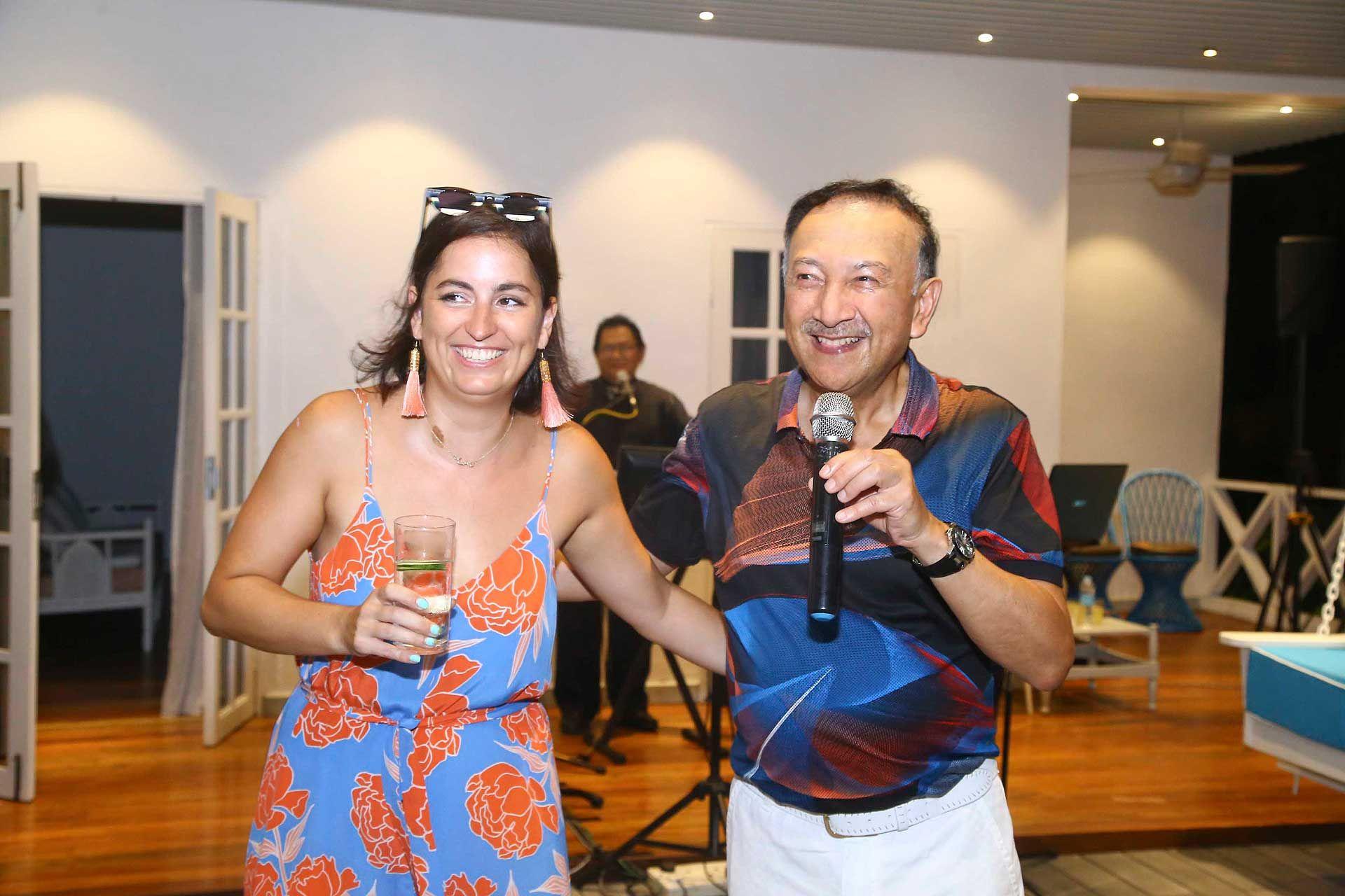 Che Puan Claire Louise Moore and Tunku Dato' Seri Utama Naquiyuddin
