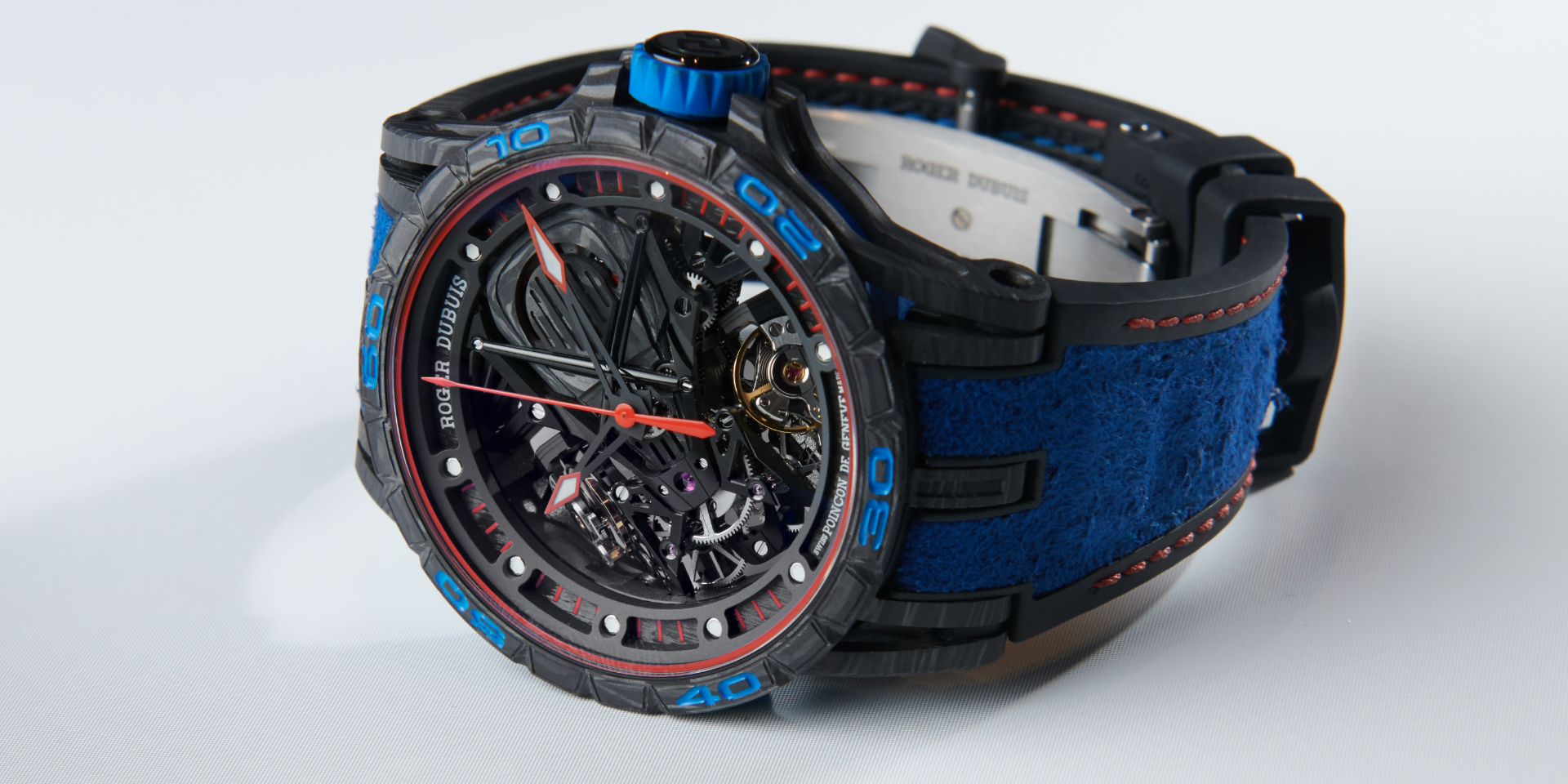 The Aventador S Blue (Photo: Roger Dubuis)