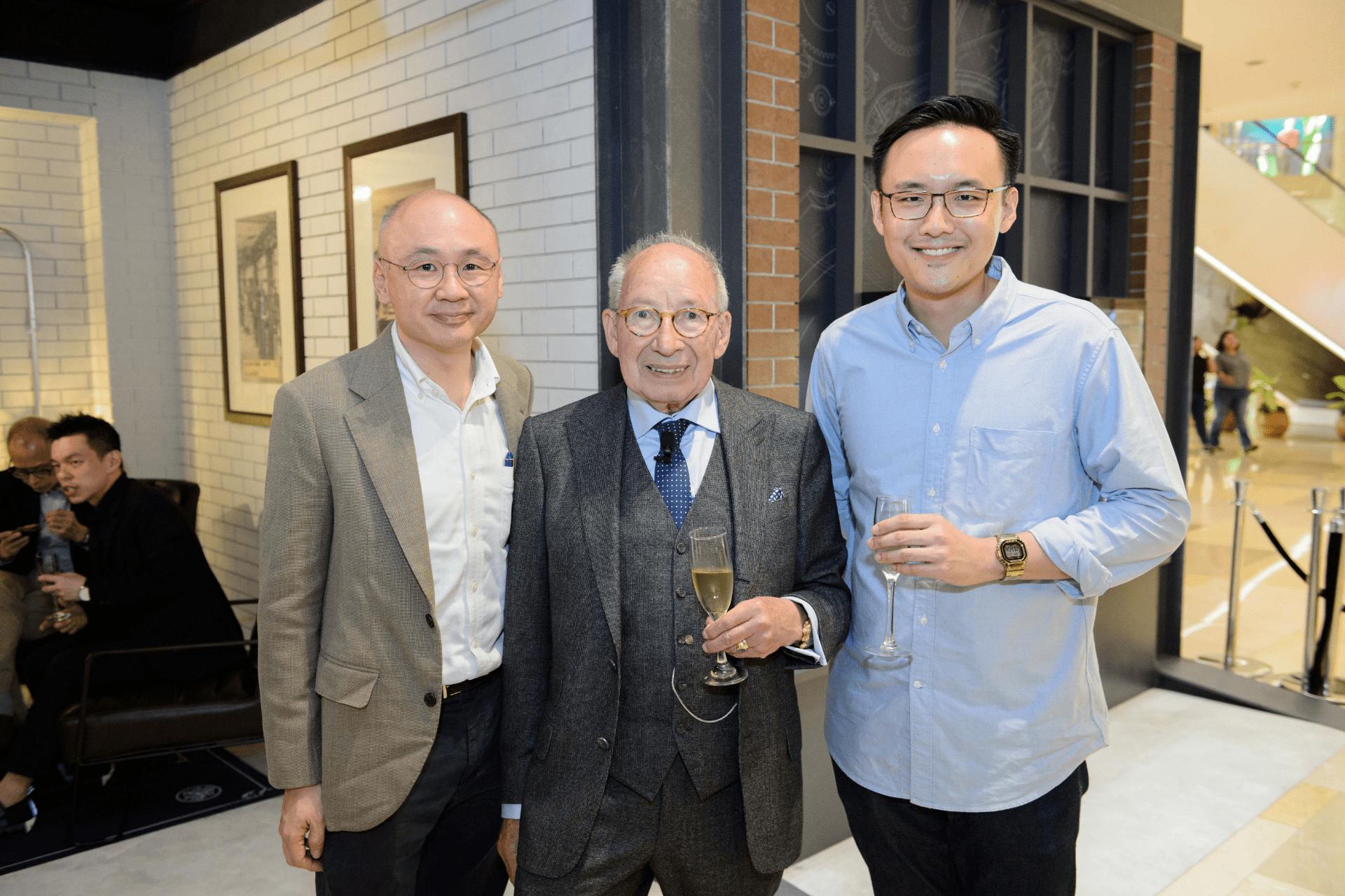 Vernon Lim, Kurt Klaus and Su Jia Xian
